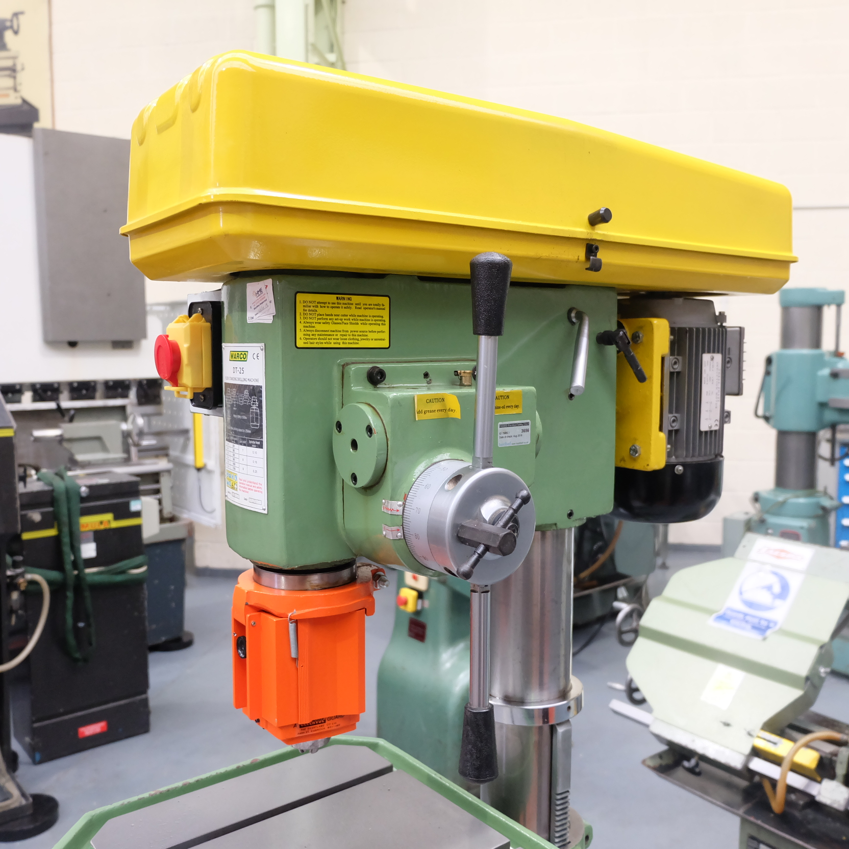 Warco Model DT-25: Floor Standing Pillar Drill. - Image 2 of 8