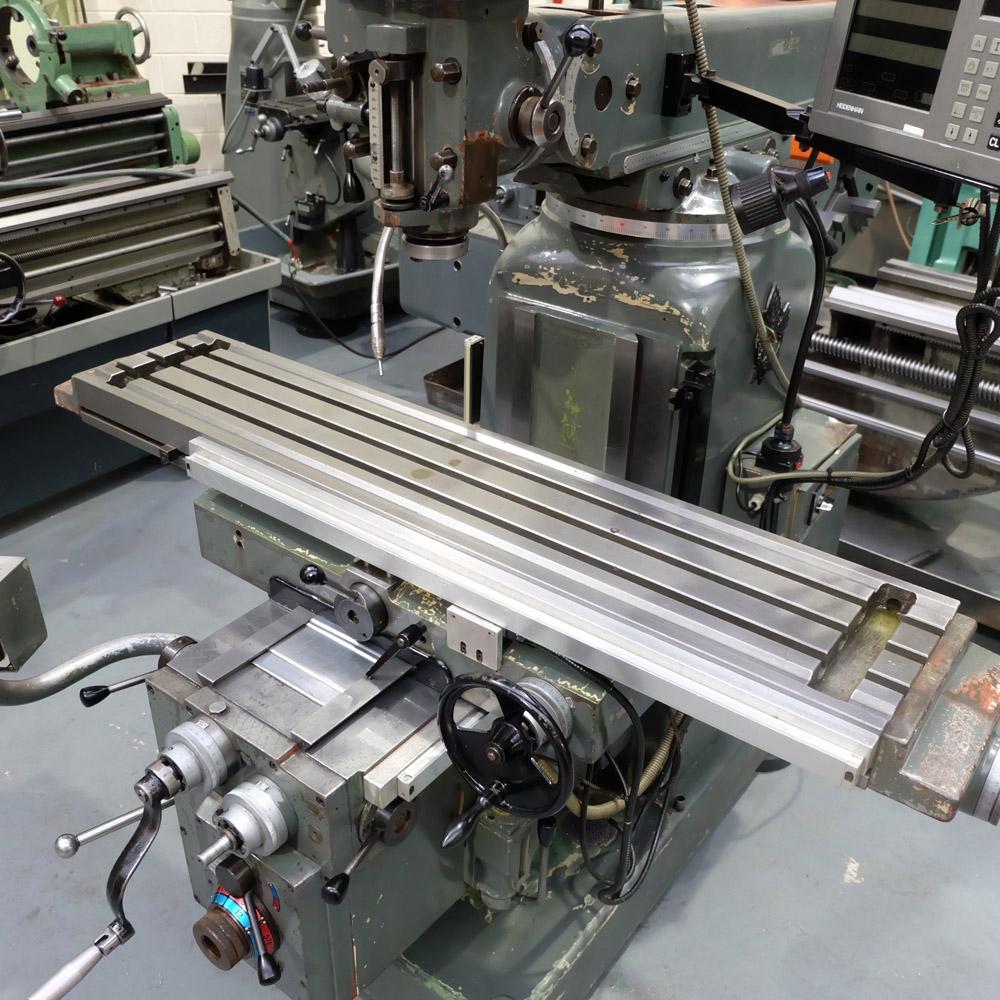 Ajax Model AJT4: Turret Milling Machine. - Image 5 of 10