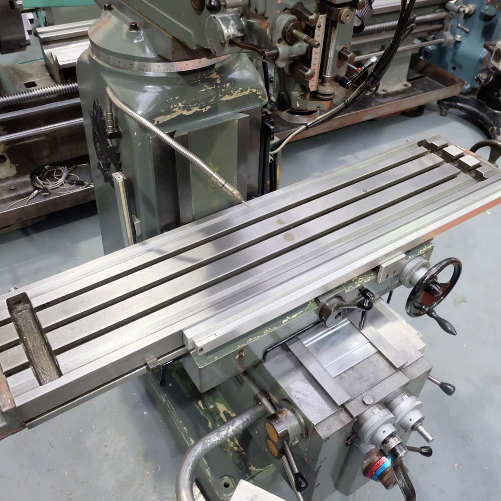Ajax Model AJT4: Turret Milling Machine. - Image 4 of 10
