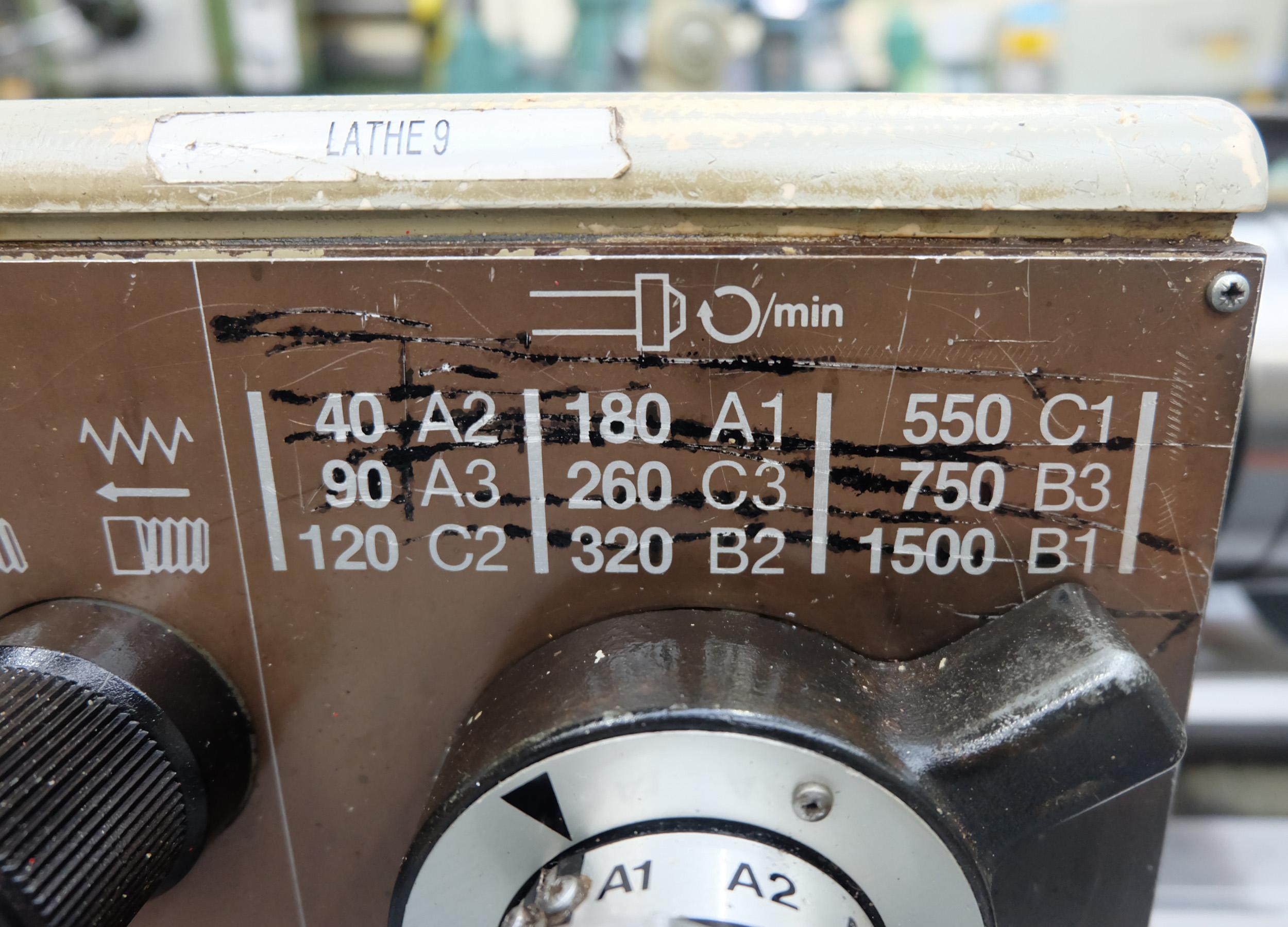 Harrison M250 Toolroom Centre Lathe. - Image 7 of 15