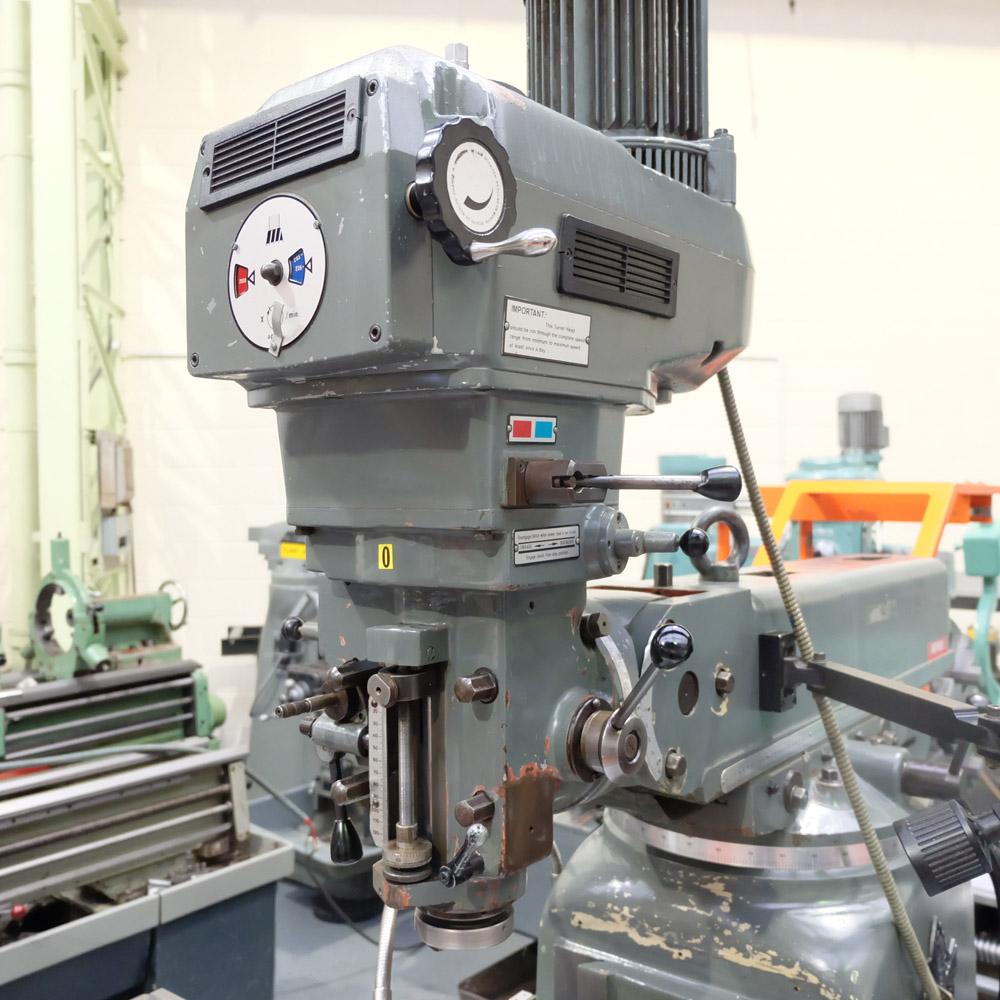 Ajax Model AJT4: Turret Milling Machine. - Image 2 of 10