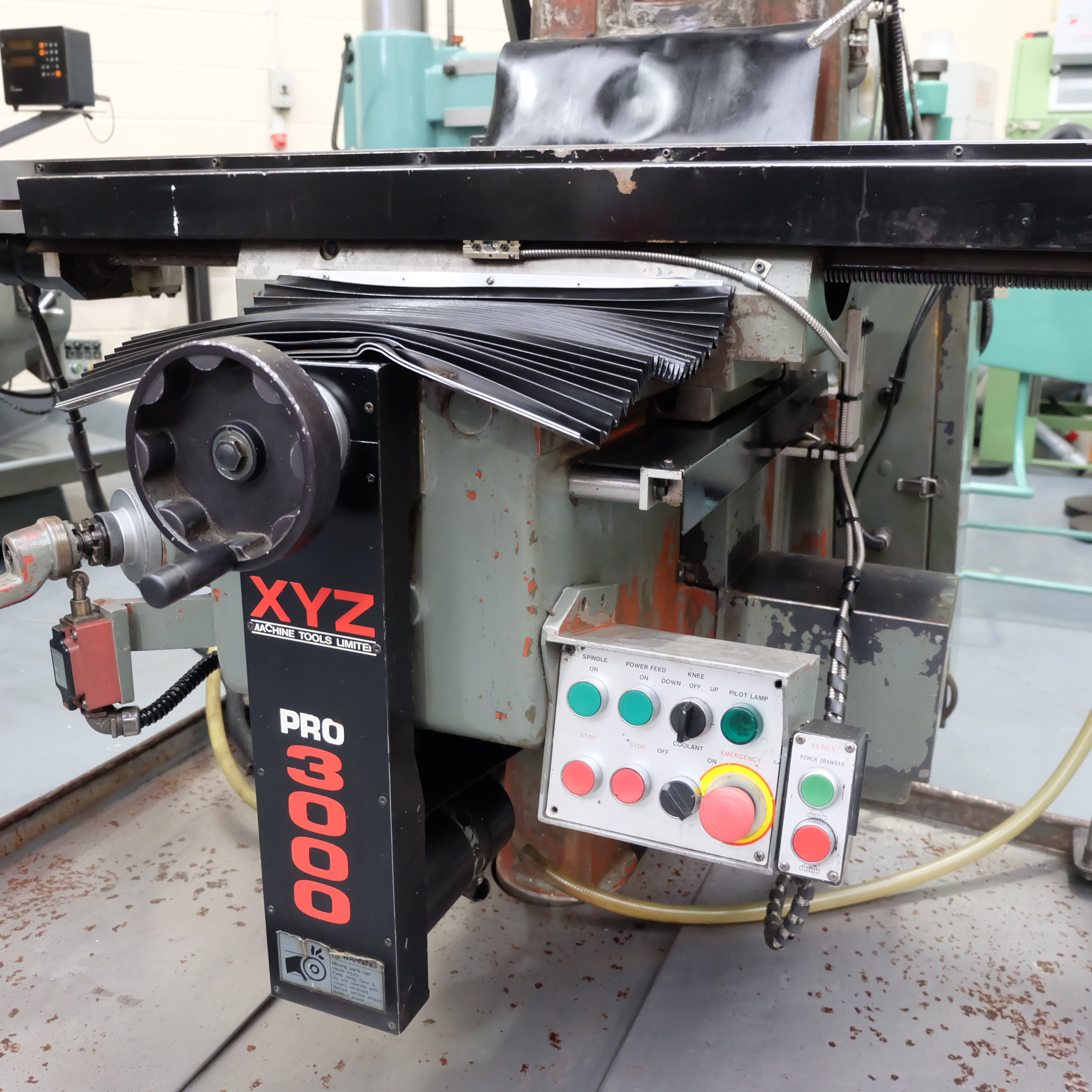 XYZ Pro3000: Turret Mill. With Prototrak MX2 Two Axis Programmable Control. - Image 7 of 10