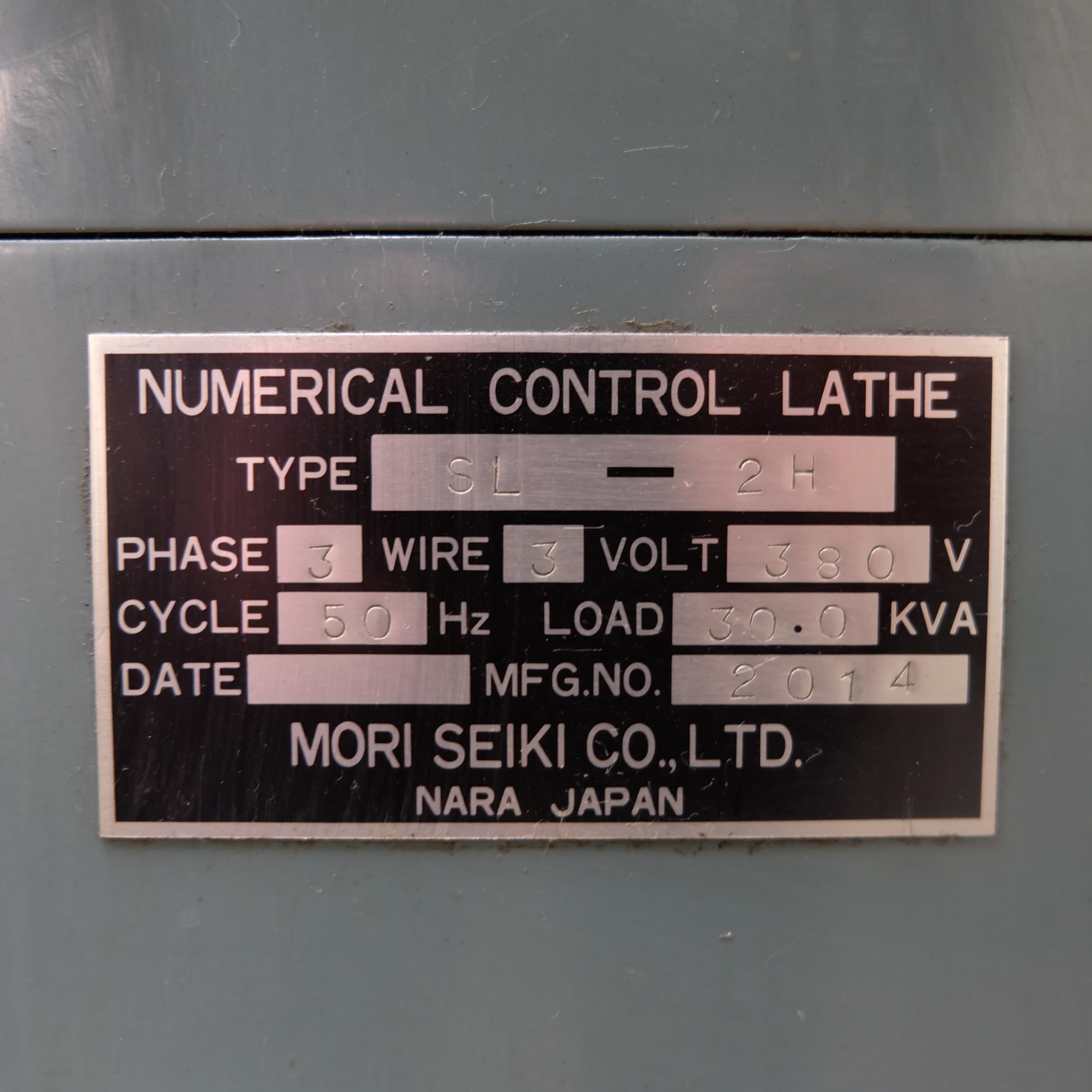 Mori Seiki SL-2H CNC Turning Lathe With Fanuc 11T Control. - Image 14 of 17