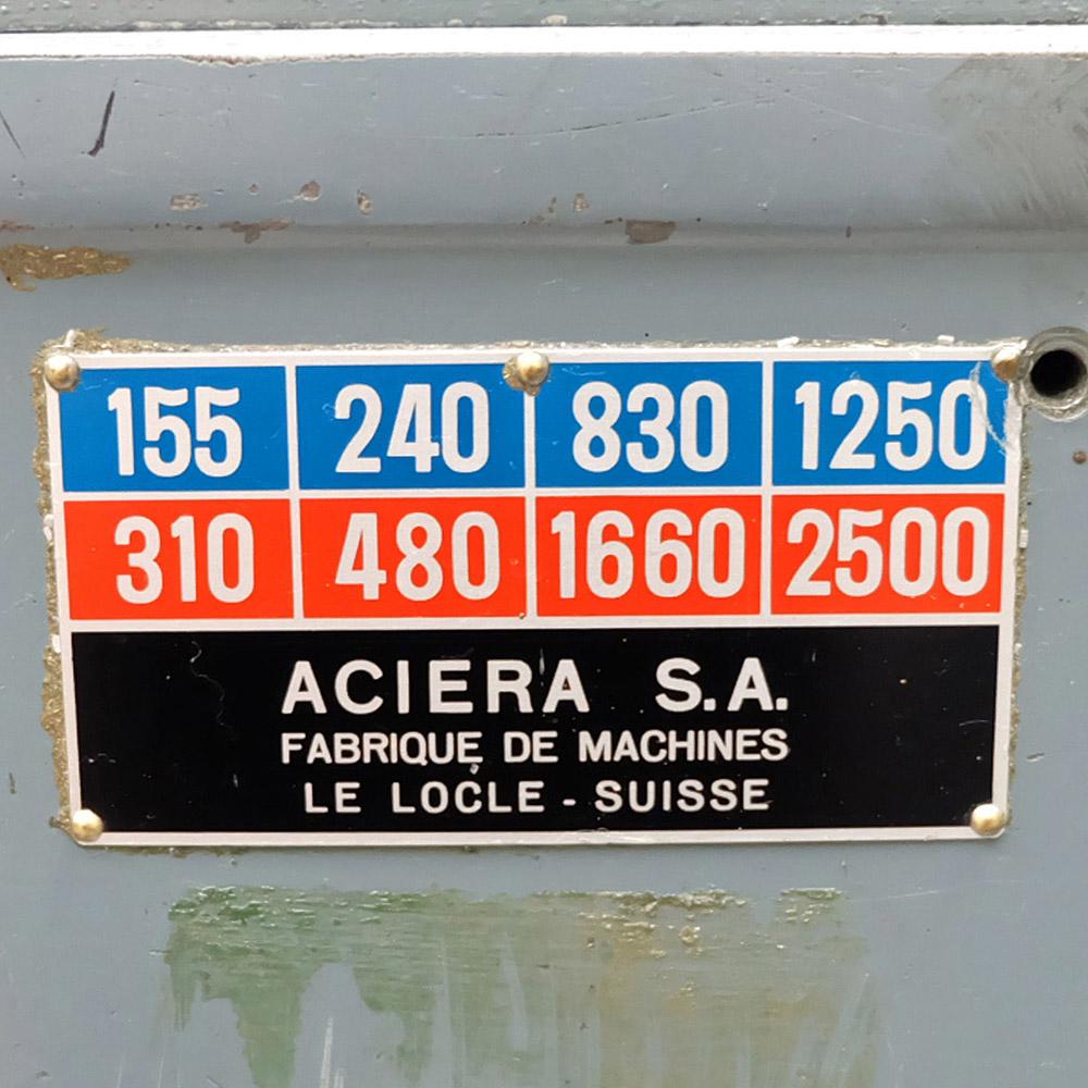 Aciera F3: Horizontal Milling Machine. - Image 10 of 10