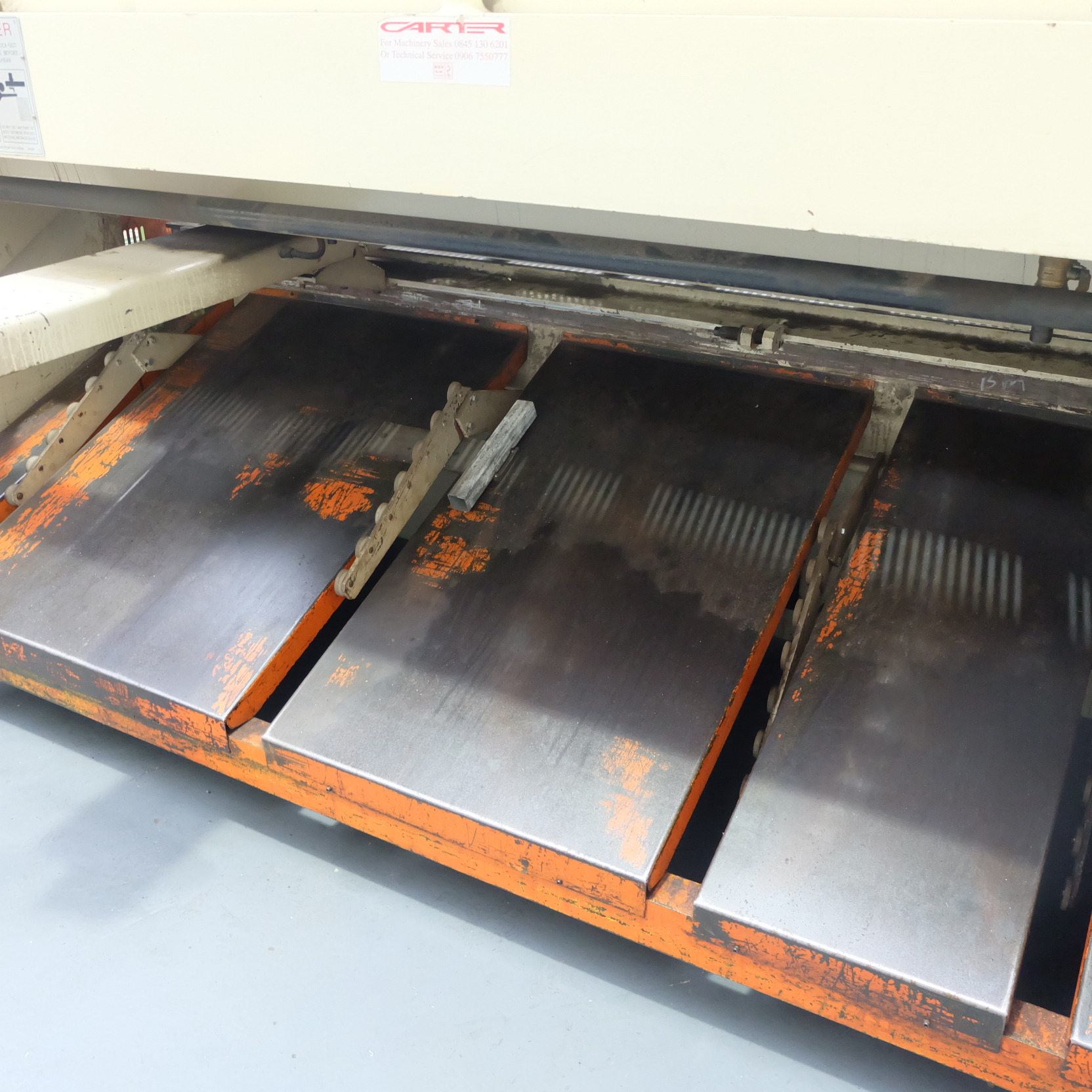 Carter Model QC12K-6x3200: Hydraulic Power Guillotine. - Image 9 of 9