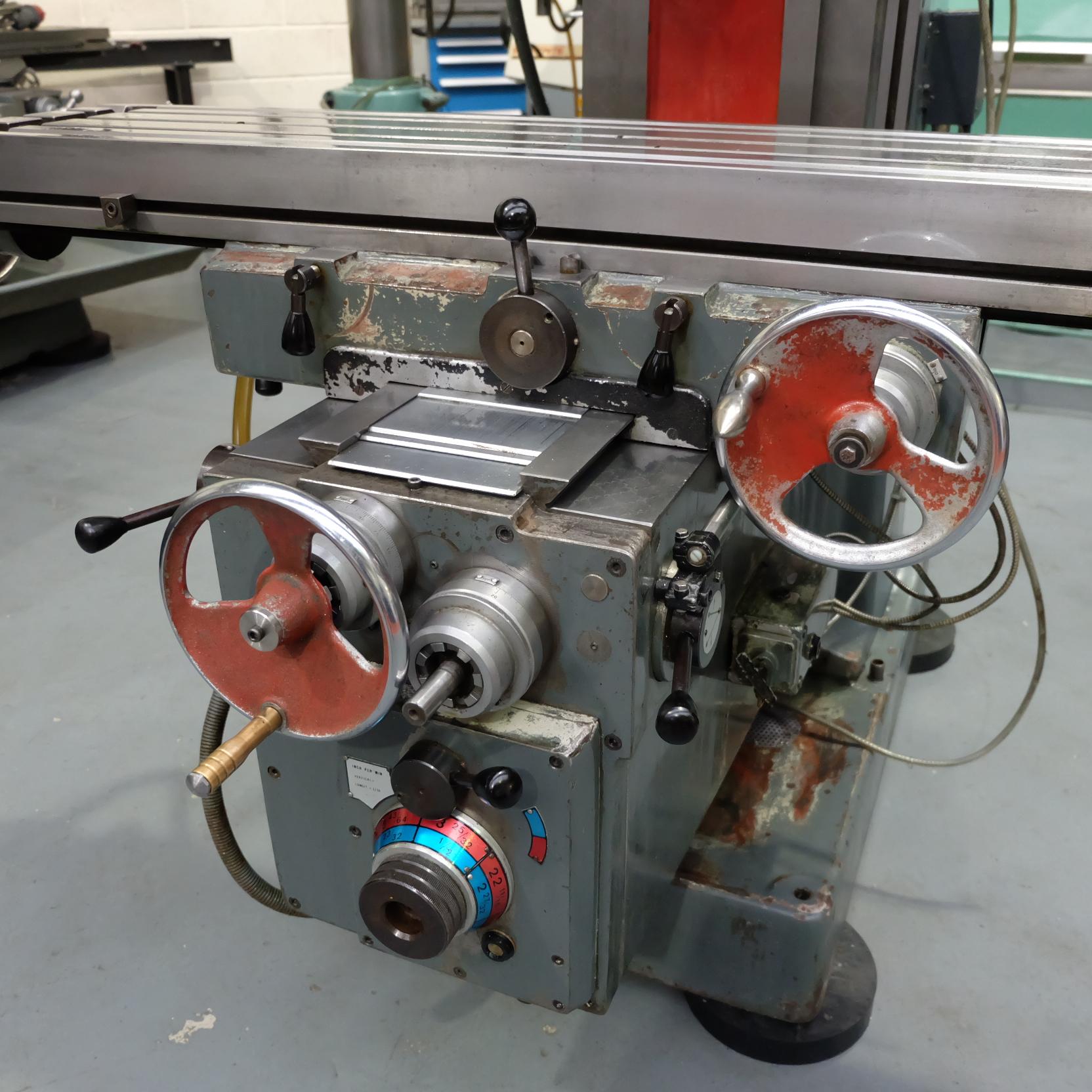 Ajax Model AJT4 Turret Milling Machine. - Image 7 of 9