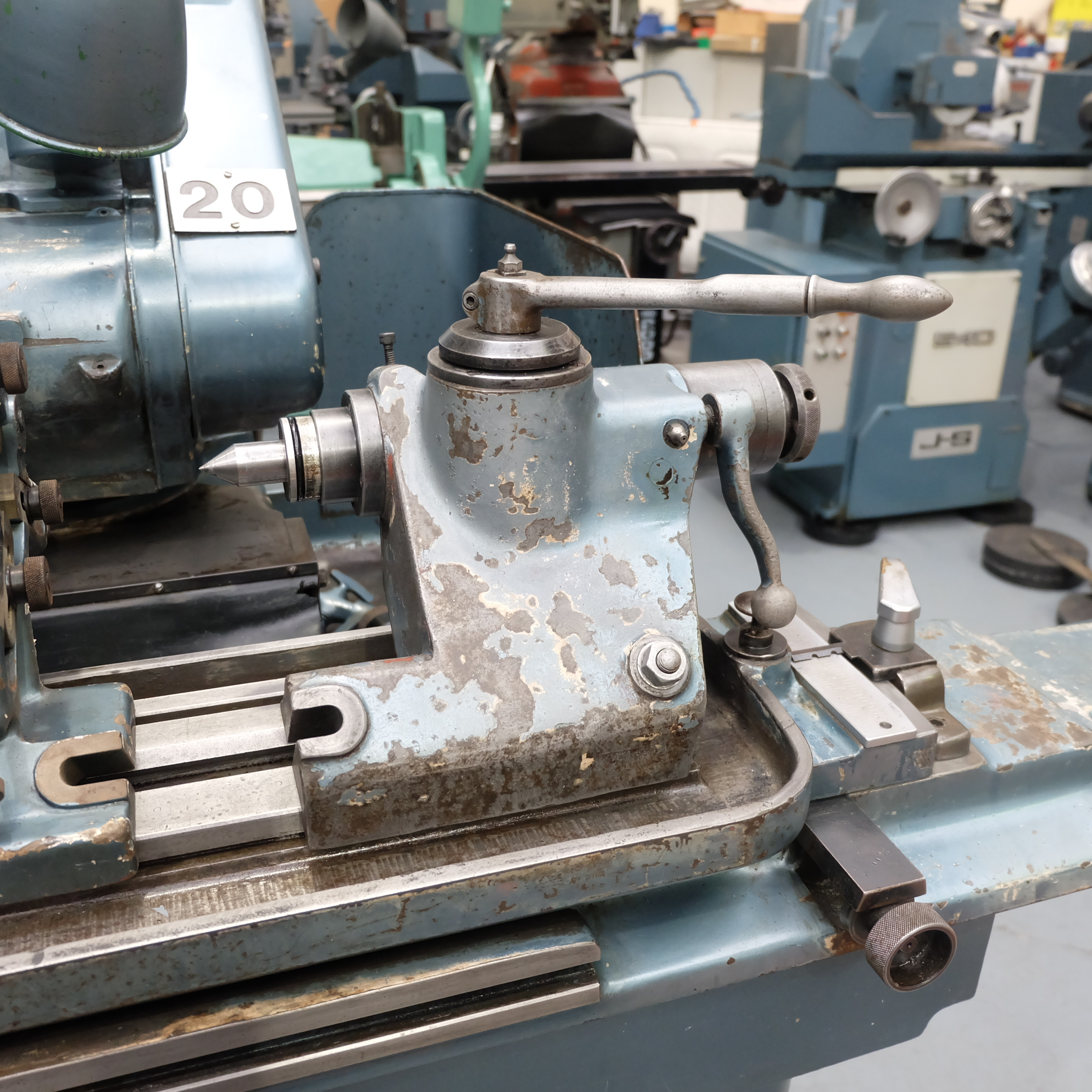 "Jones & Shipman Type 1311 Universal Cylindrical Grinder. 24"" x 10"" Capacity - Image 4 of 11"