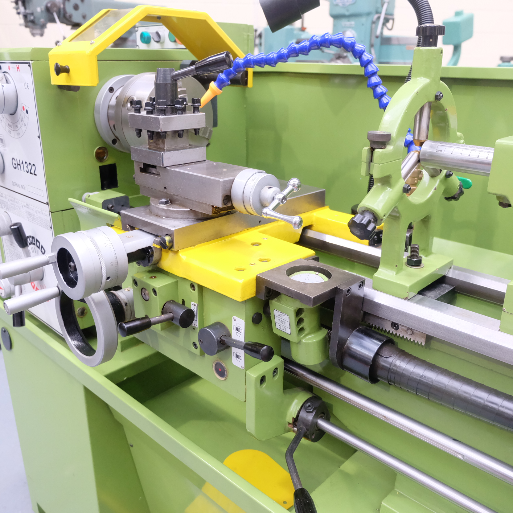 Warco Model GH 1322: Gap Bed Centre Lathe. - Image 5 of 10