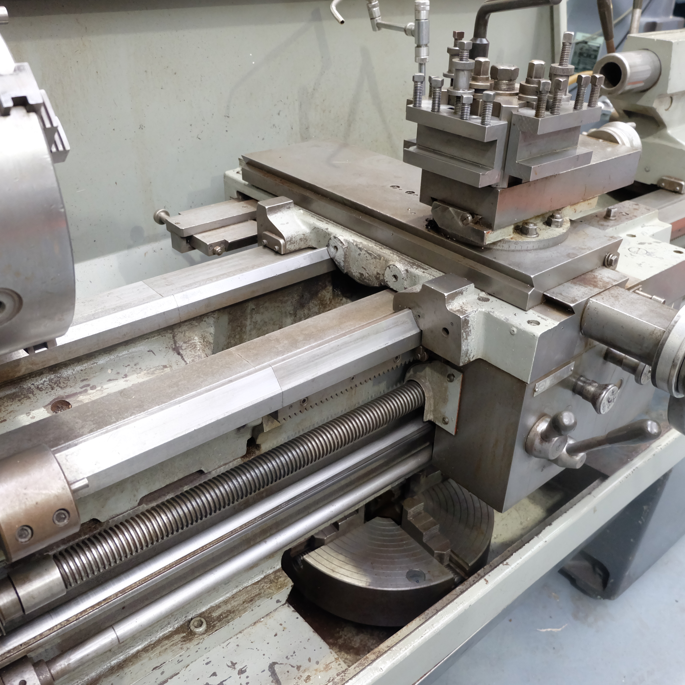 Colchester Mascot 1600 Gap Bed Centre Lathe. - Image 4 of 10