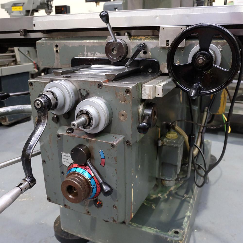 Ajax Model AJT4: Turret Milling Machine. - Image 6 of 10