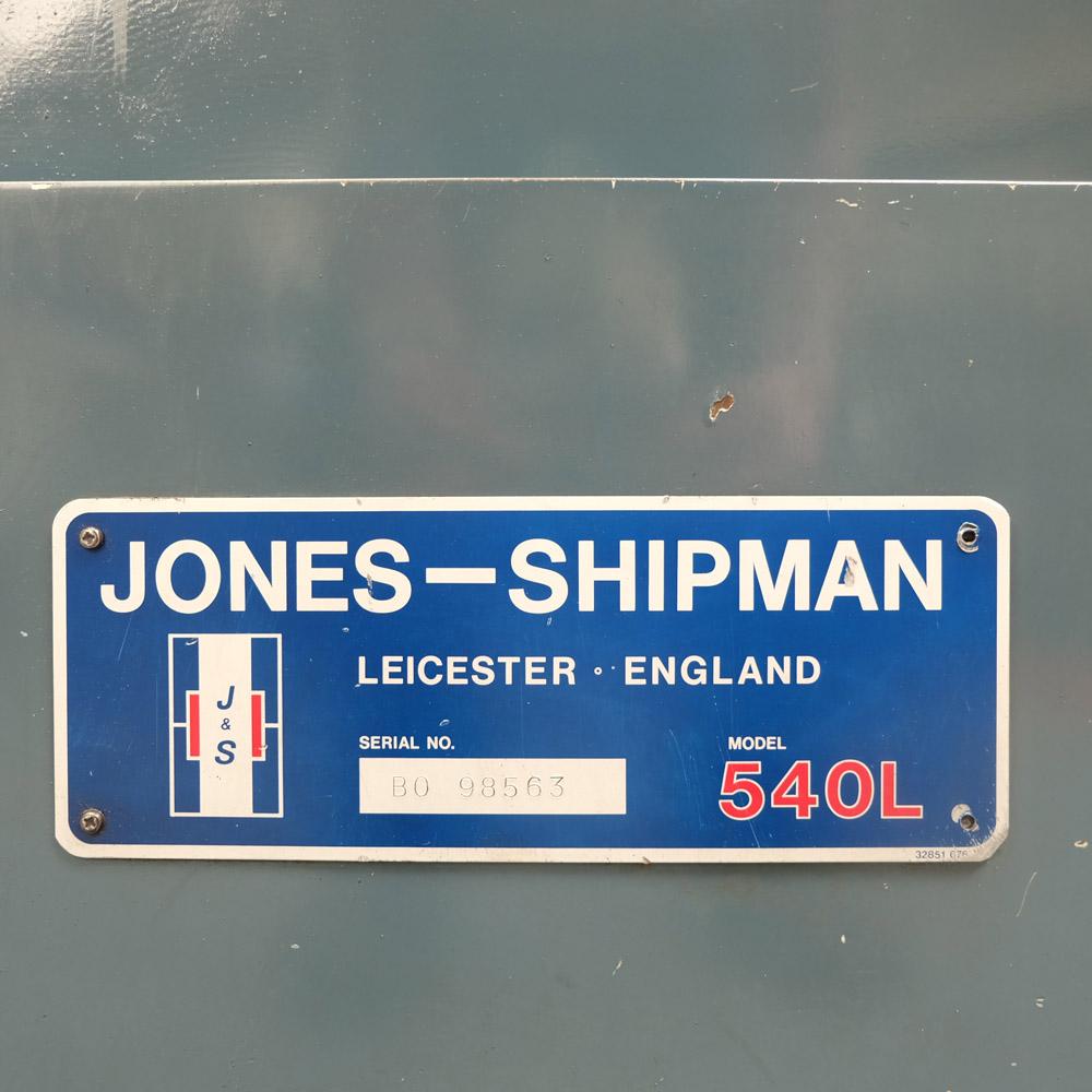 "Jones & Shipman Type 540L Surface Grinder. Capacity 18"" x 6"". Height Under Wheel 16"". - Image 6 of 6"