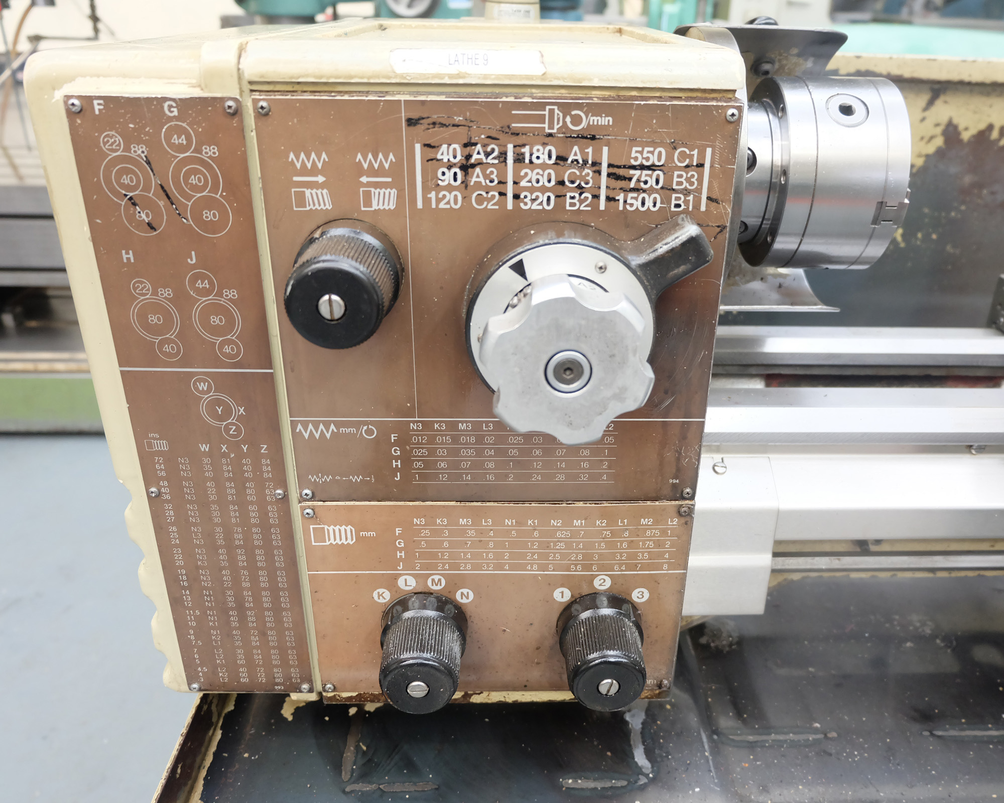 Harrison M250 Toolroom Centre Lathe. - Image 2 of 15