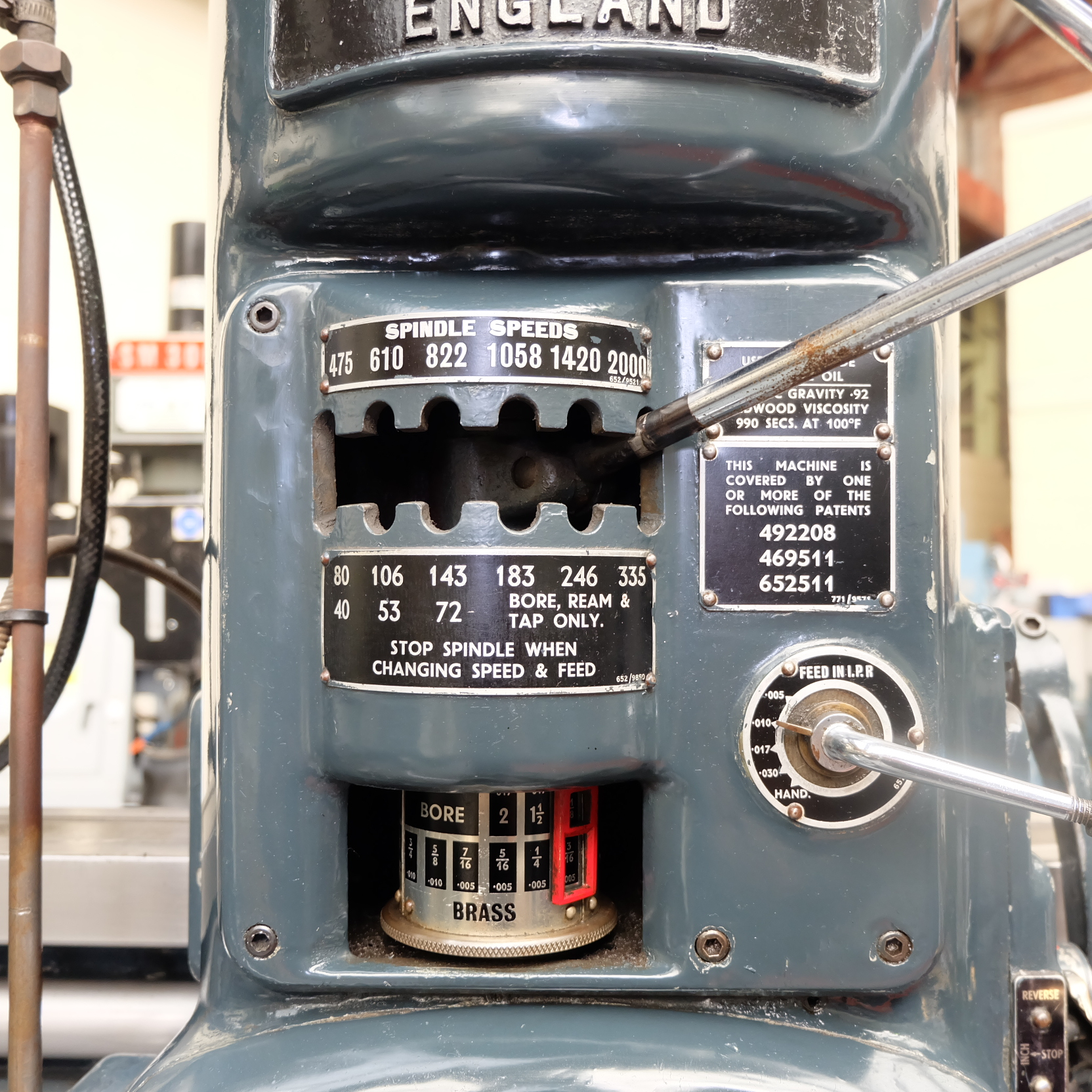 """Archdale: 3'6"""" Radial Arm Drill. Spindle Speeds 40-2000rpm. - Image 4 of 8"""