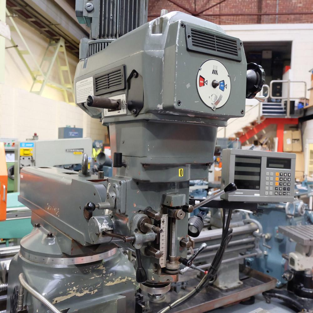 Ajax Model AJT4: Turret Milling Machine. - Image 3 of 10