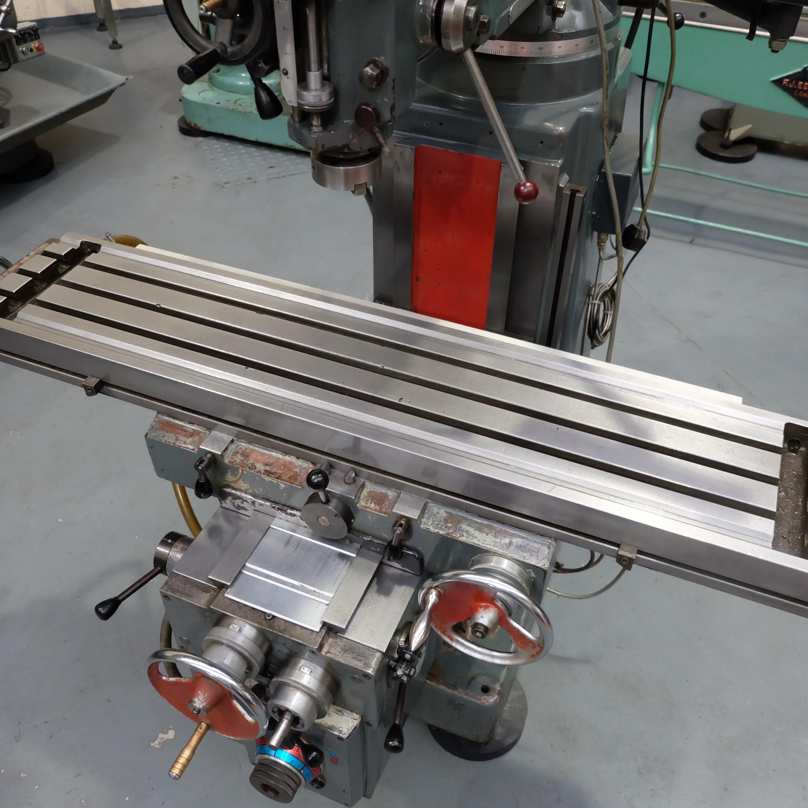 Ajax Model AJT4 Turret Milling Machine. - Image 6 of 9