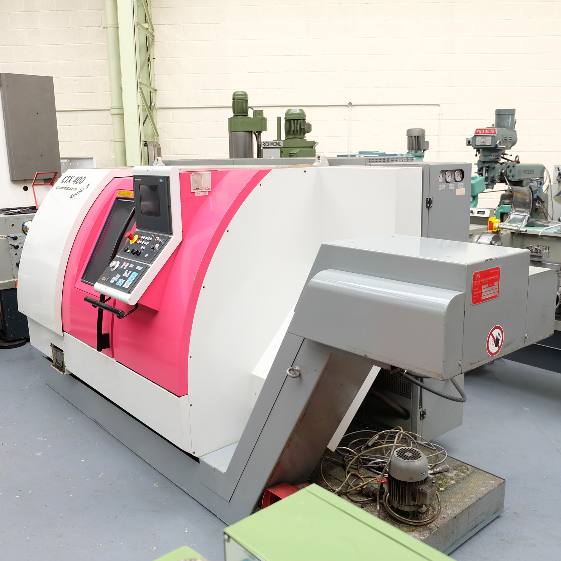 Guildermeister CTX-400 S2. CNC Turning & Milling Centre. With Heidenhain Pilot Control - Image 2 of 17