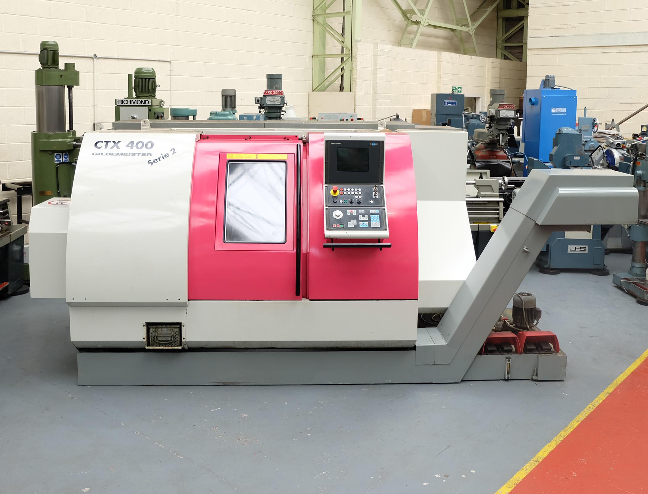 Guildermeister CTX-400 S2. CNC Turning & Milling Centre. With Heidenhain Pilot Control