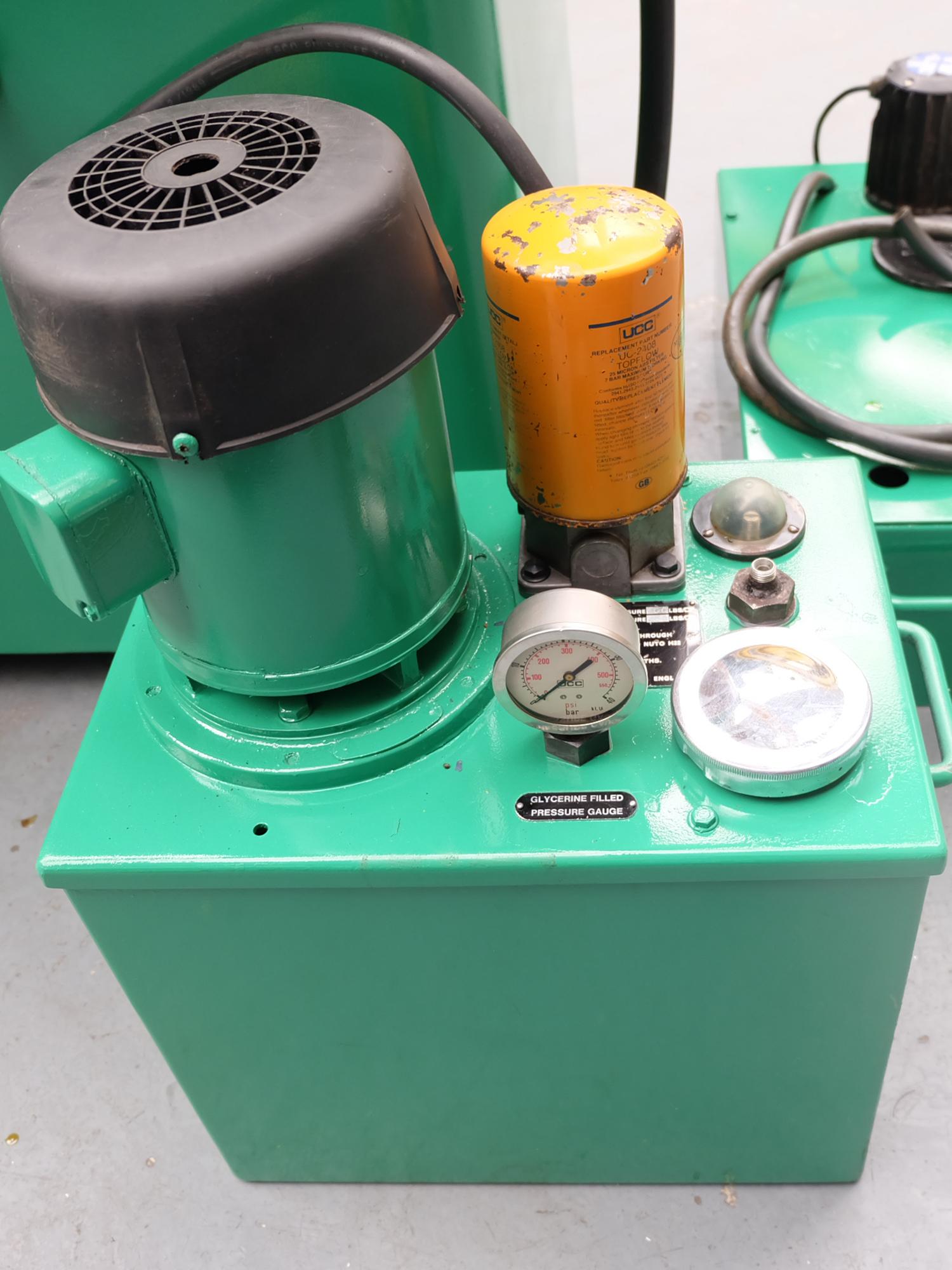 Myford MG12-HA Hydraulic Cylindrical Grinder. - Image 12 of 13