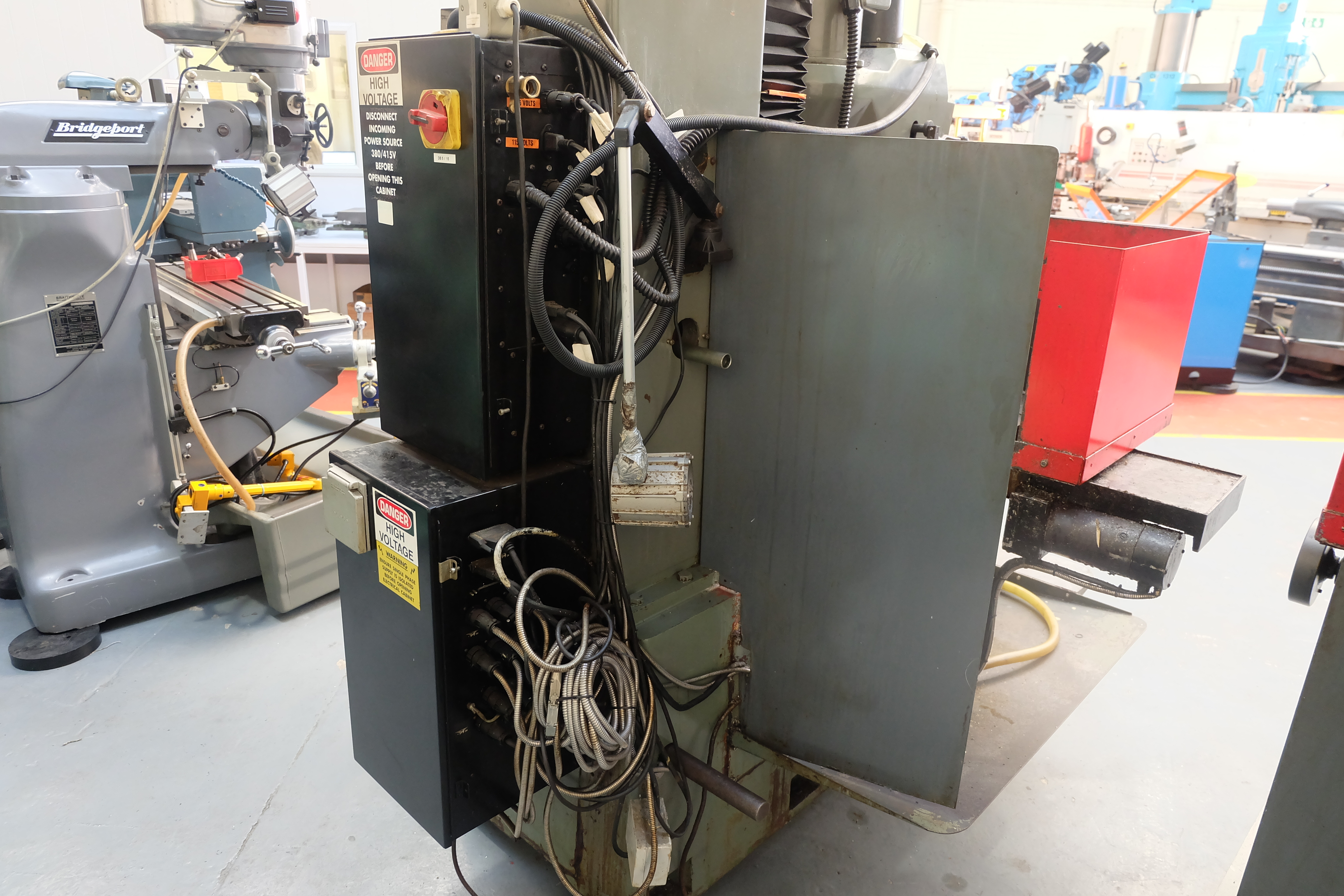 "2 x XYZ Type DPM Milling Machines Table 42"" x 12 1/2"". Prototrak MX3 Control. For Spares or Repair. - Image 17 of 21"