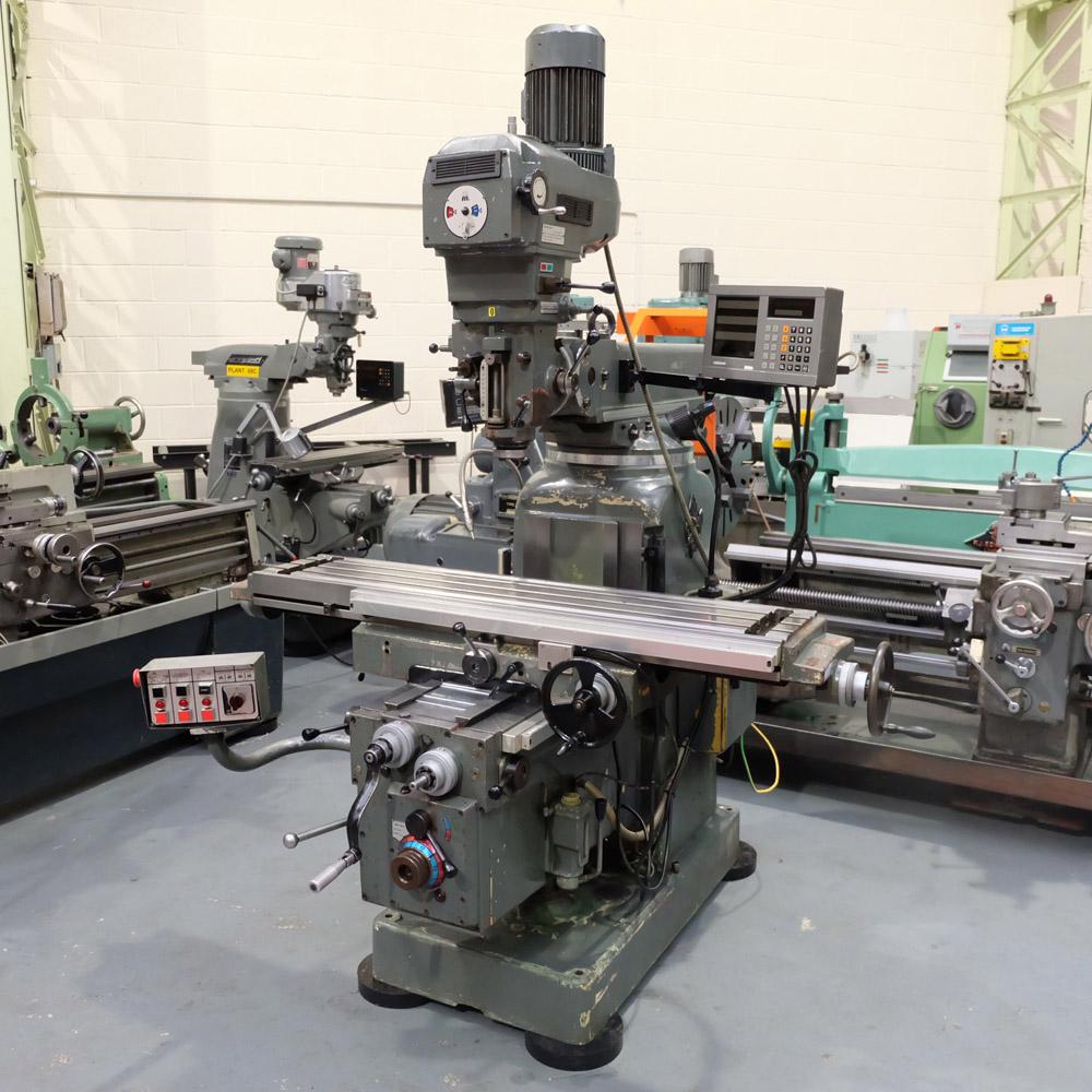 Ajax Model AJT4: Turret Milling Machine.