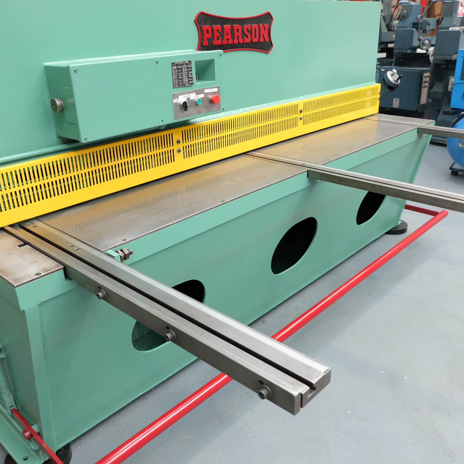 Pearson Type 8 x 25 Hydraulic Guillotine. - Image 2 of 7