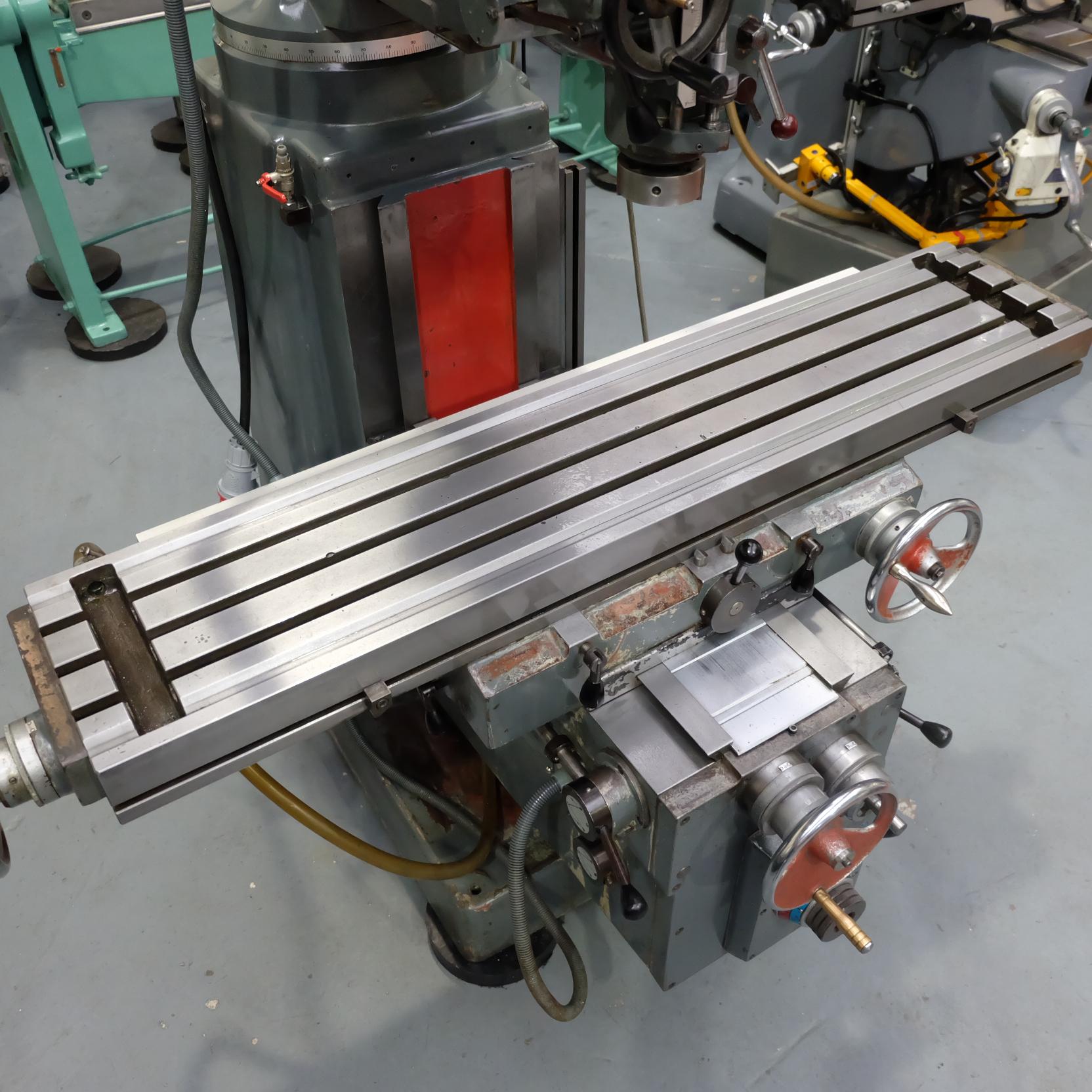 Ajax Model AJT4 Turret Milling Machine. - Image 5 of 9