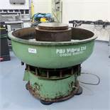 PDJ Vibro Ltd Vibratory Circular Bowl Finisher. Capacity 200ltr. Size 1300mm Diameter.