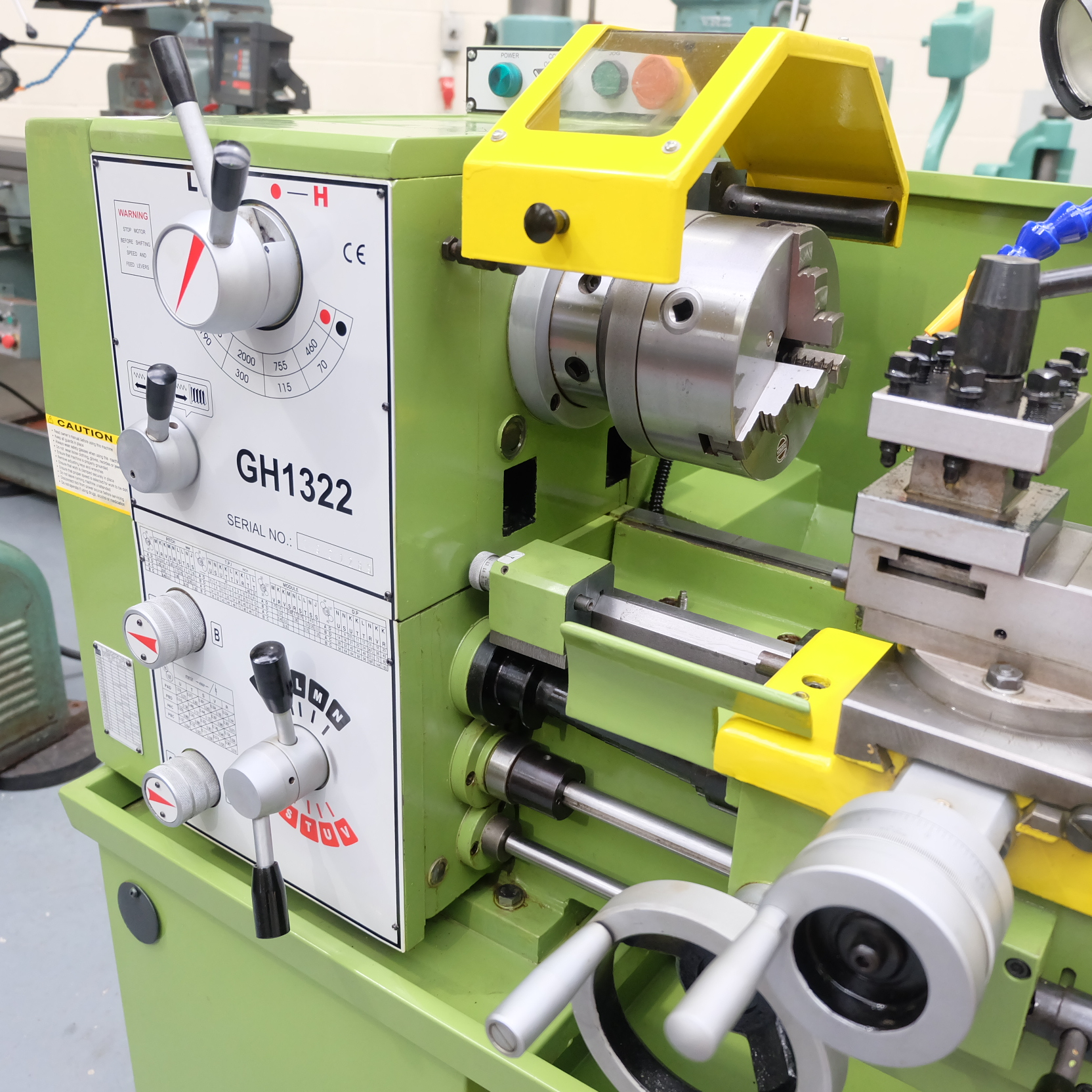 Warco Model GH 1322: Gap Bed Centre Lathe. - Image 3 of 10
