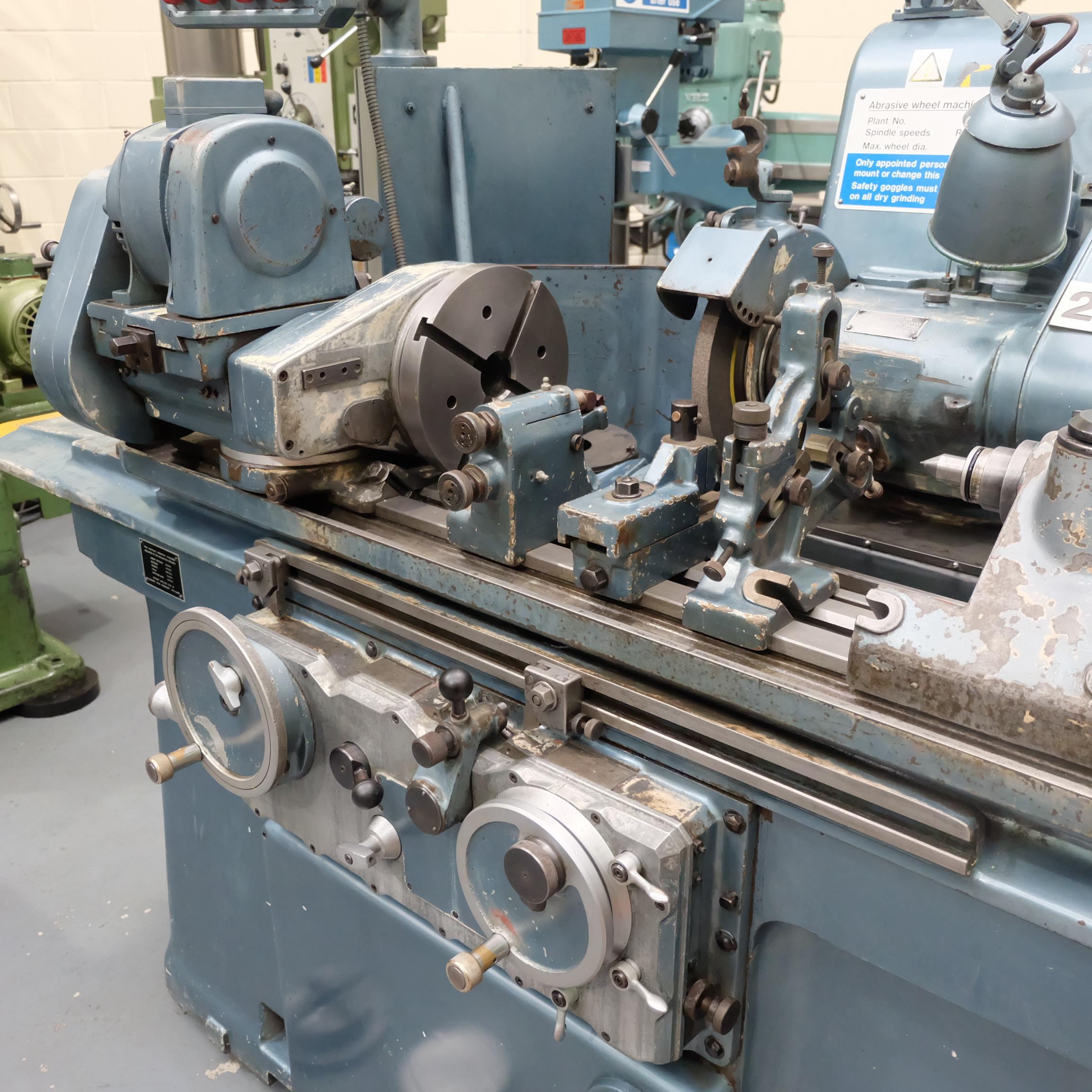 "Jones & Shipman Type 1311 Universal Cylindrical Grinder. 24"" x 10"" Capacity - Image 3 of 11"