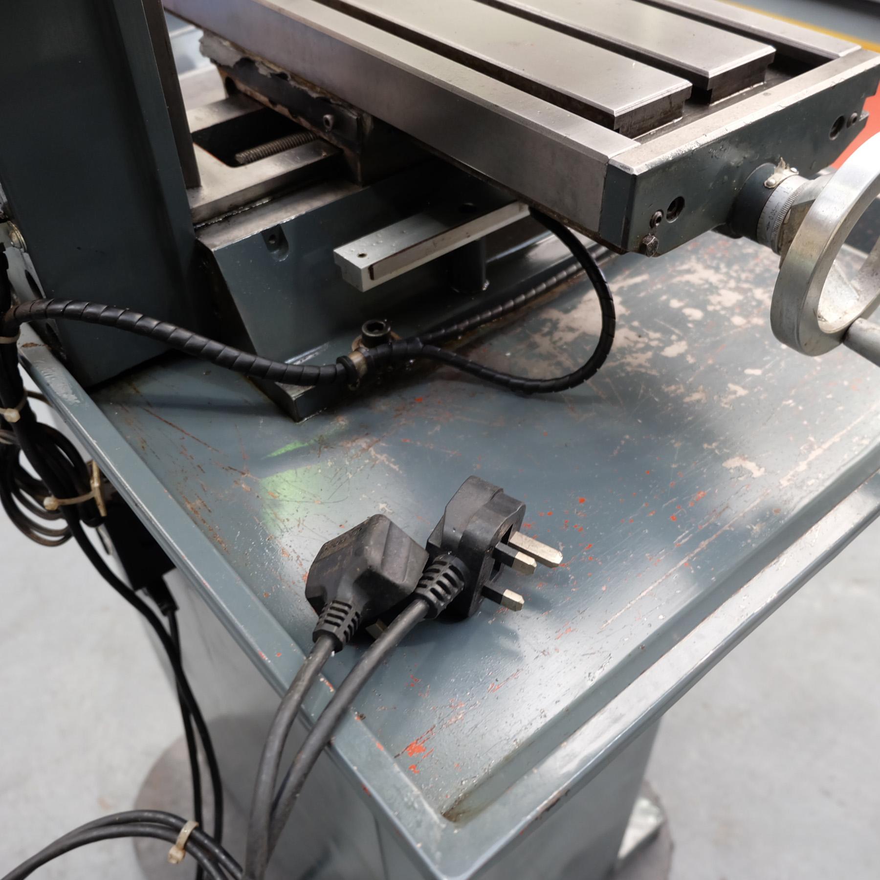 Optimum BF20 Vario Drilling/Milling Machine. - Image 11 of 11