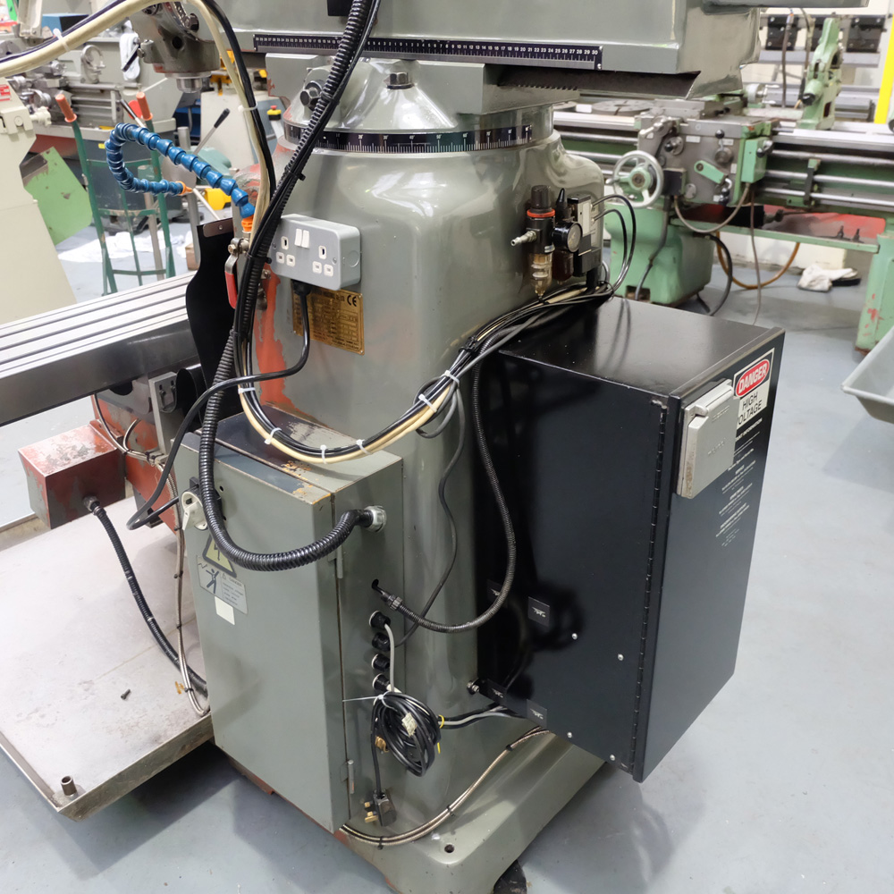 KRV Pro 2000: Turret Milling Machine. - Image 10 of 11