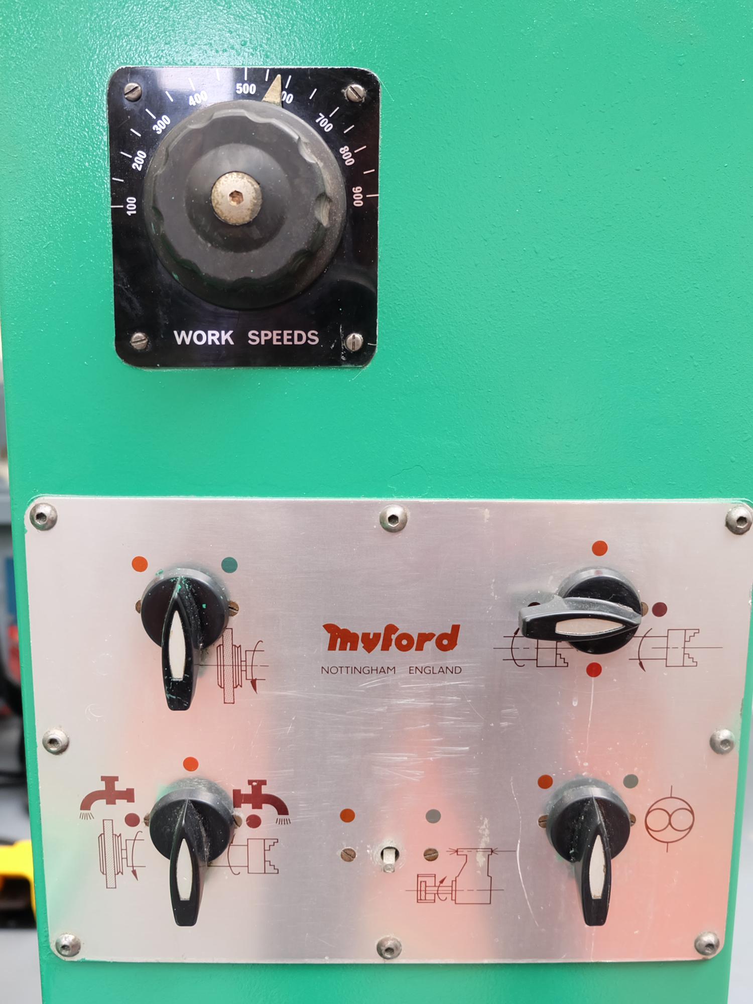Myford MG12-HA Hydraulic Cylindrical Grinder. - Image 10 of 13