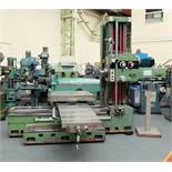 Ceruti Model ABC 75 Horizontal Boring & Milling Machine. With Tooling.