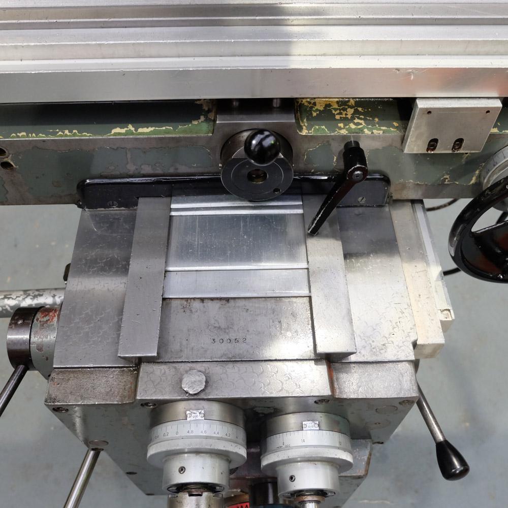 Ajax Model AJT4: Turret Milling Machine. - Image 7 of 10