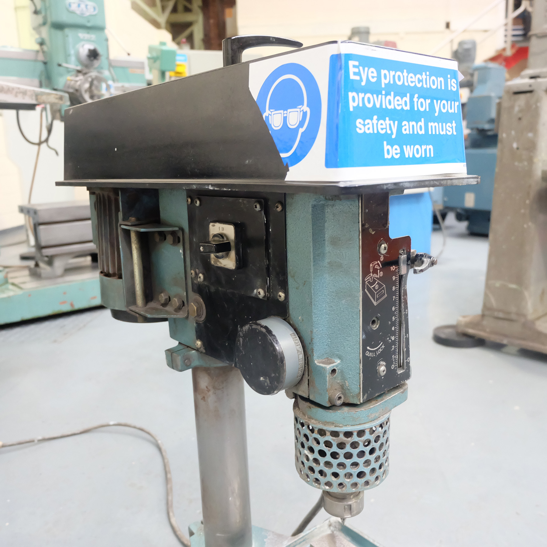 Meddings Type LF2 Bench Drill. Spindle Speeds 500-4000rpm. - Image 3 of 5