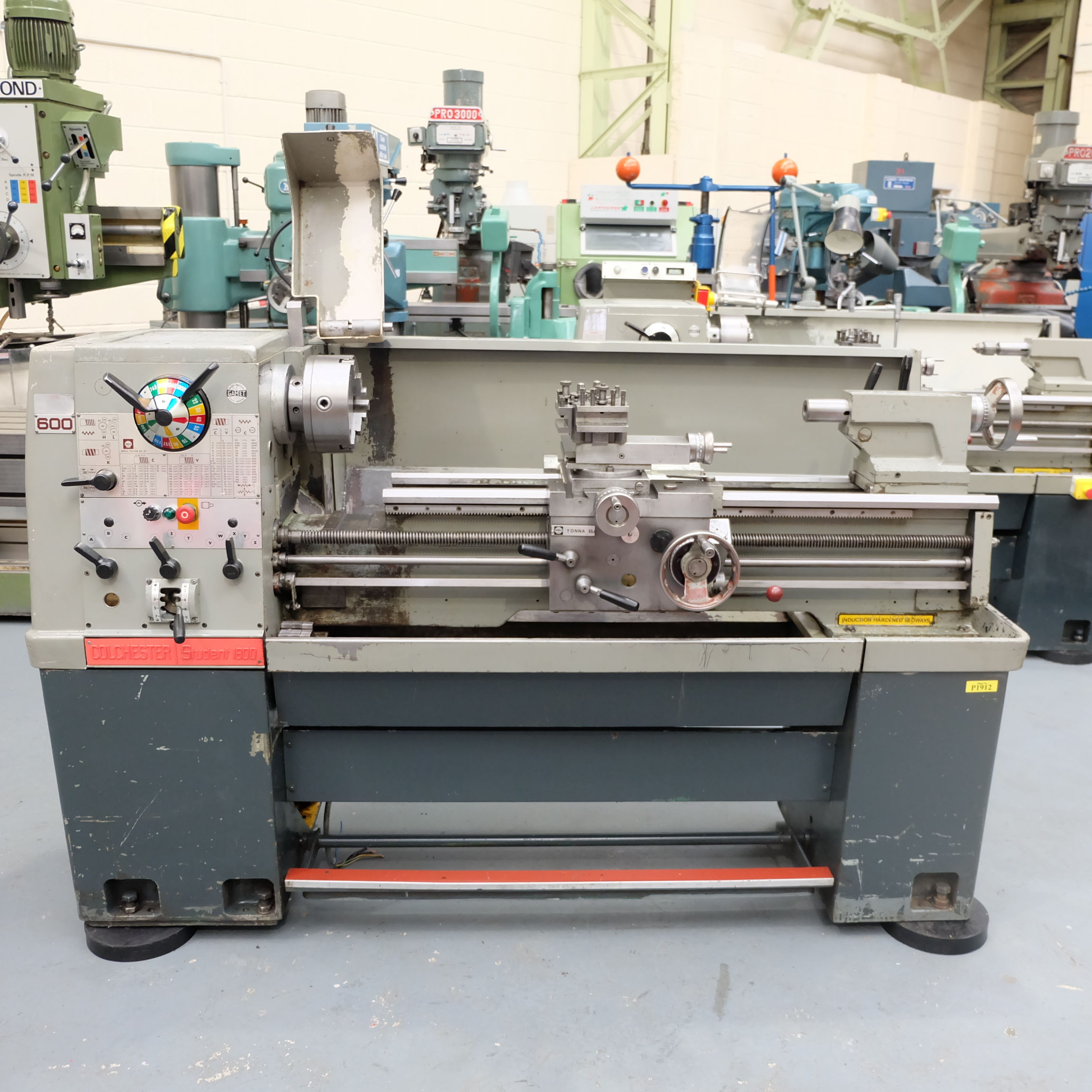 Colchester Student Gap Bed Centre Lathe.