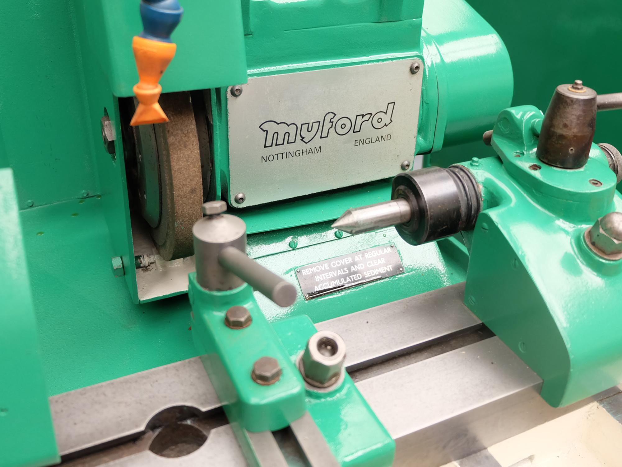 Myford MG12-HA Hydraulic Cylindrical Grinder. - Image 4 of 13