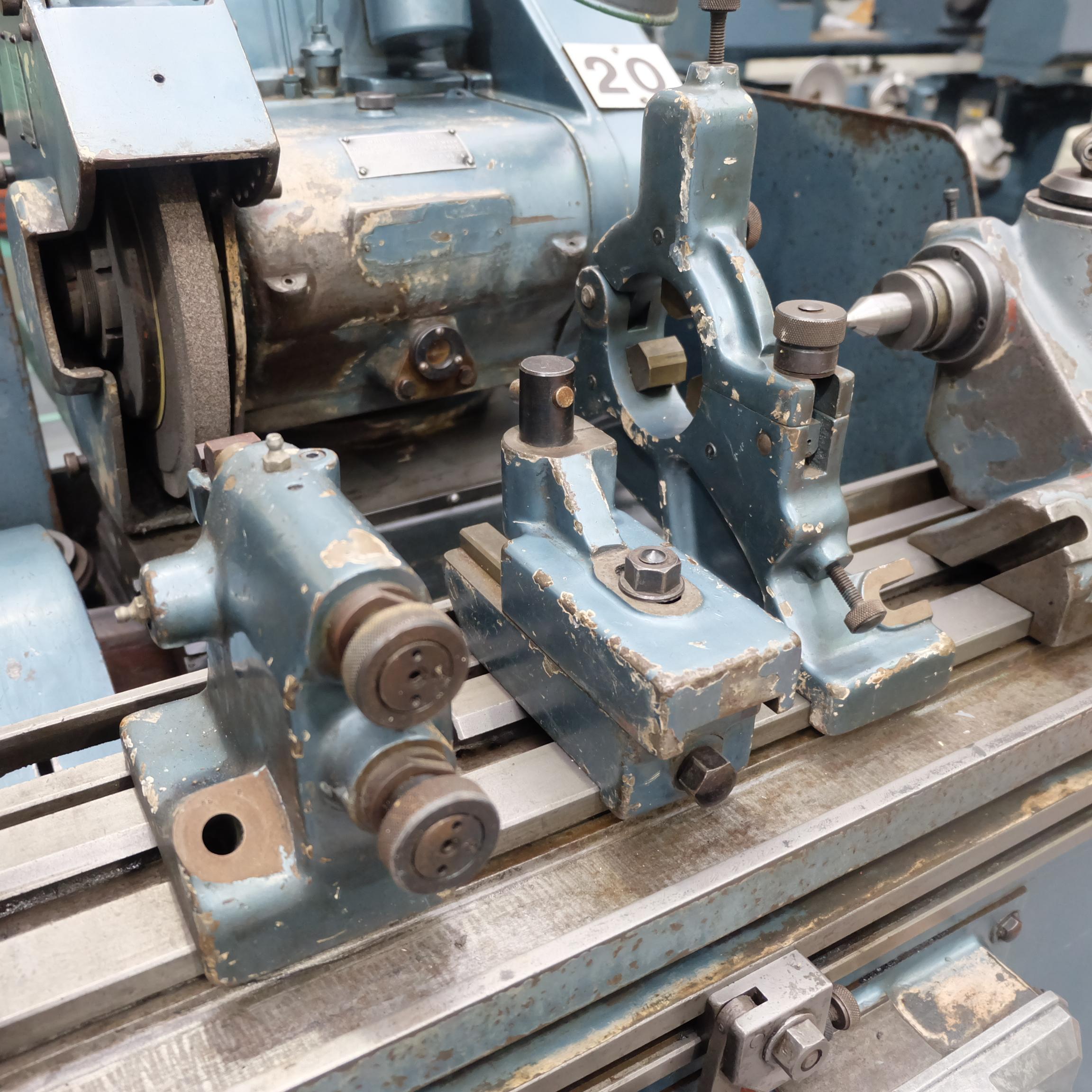 "Jones & Shipman Type 1311 Universal Cylindrical Grinder. 24"" x 10"" Capacity - Image 7 of 11"