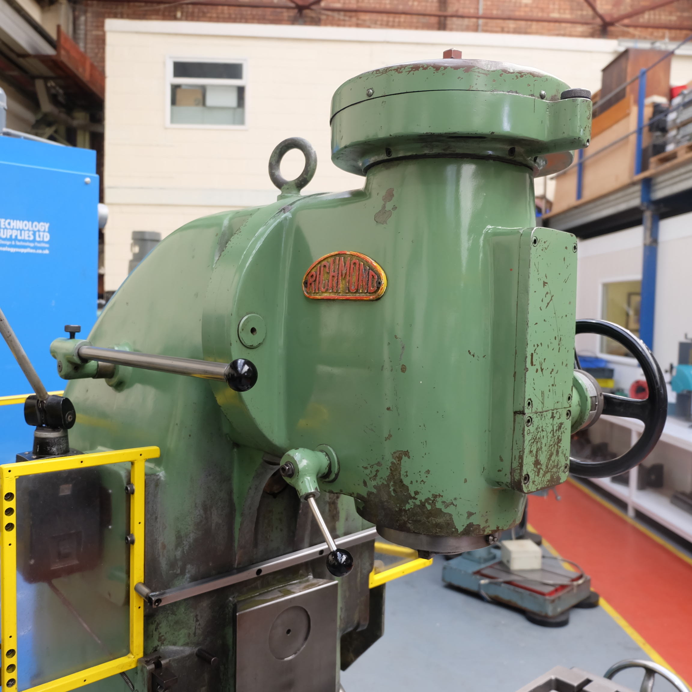 Richmond No 3V Vertical Milling Machine. - Image 8 of 12