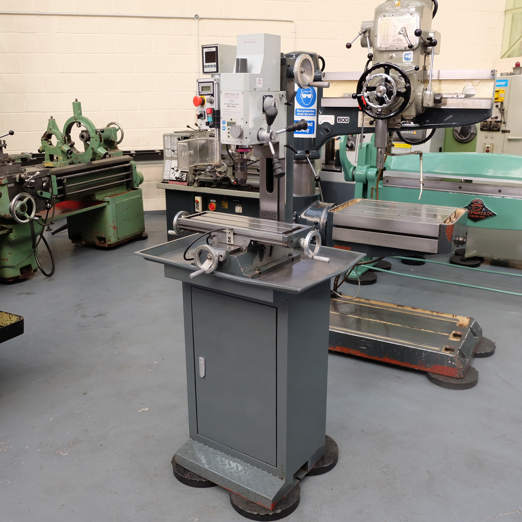 Optimum BF20 Vario Drilling/Milling Machine.