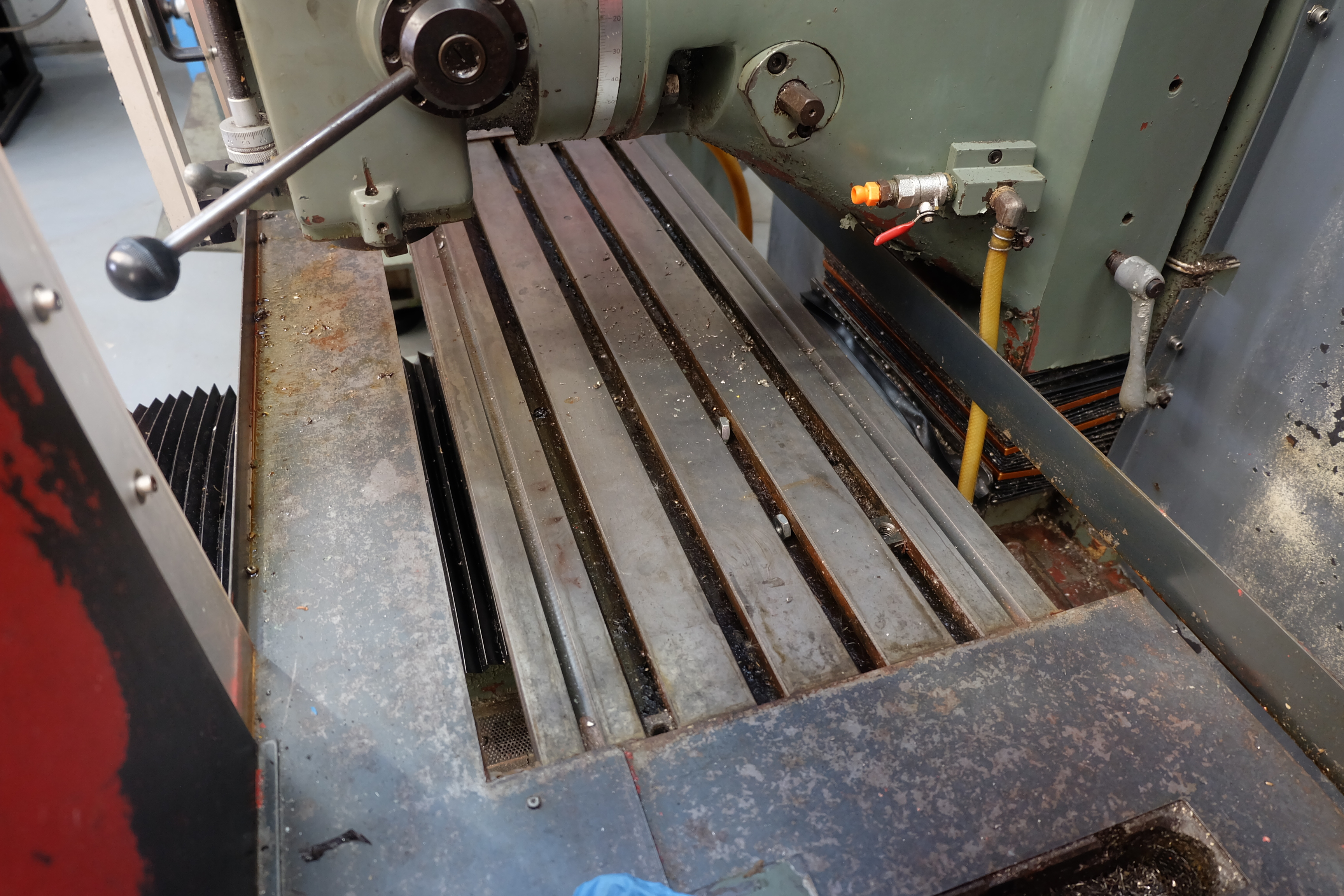 "2 x XYZ Type DPM Milling Machines Table 42"" x 12 1/2"". Prototrak MX3 Control. For Spares or Repair. - Image 14 of 21"