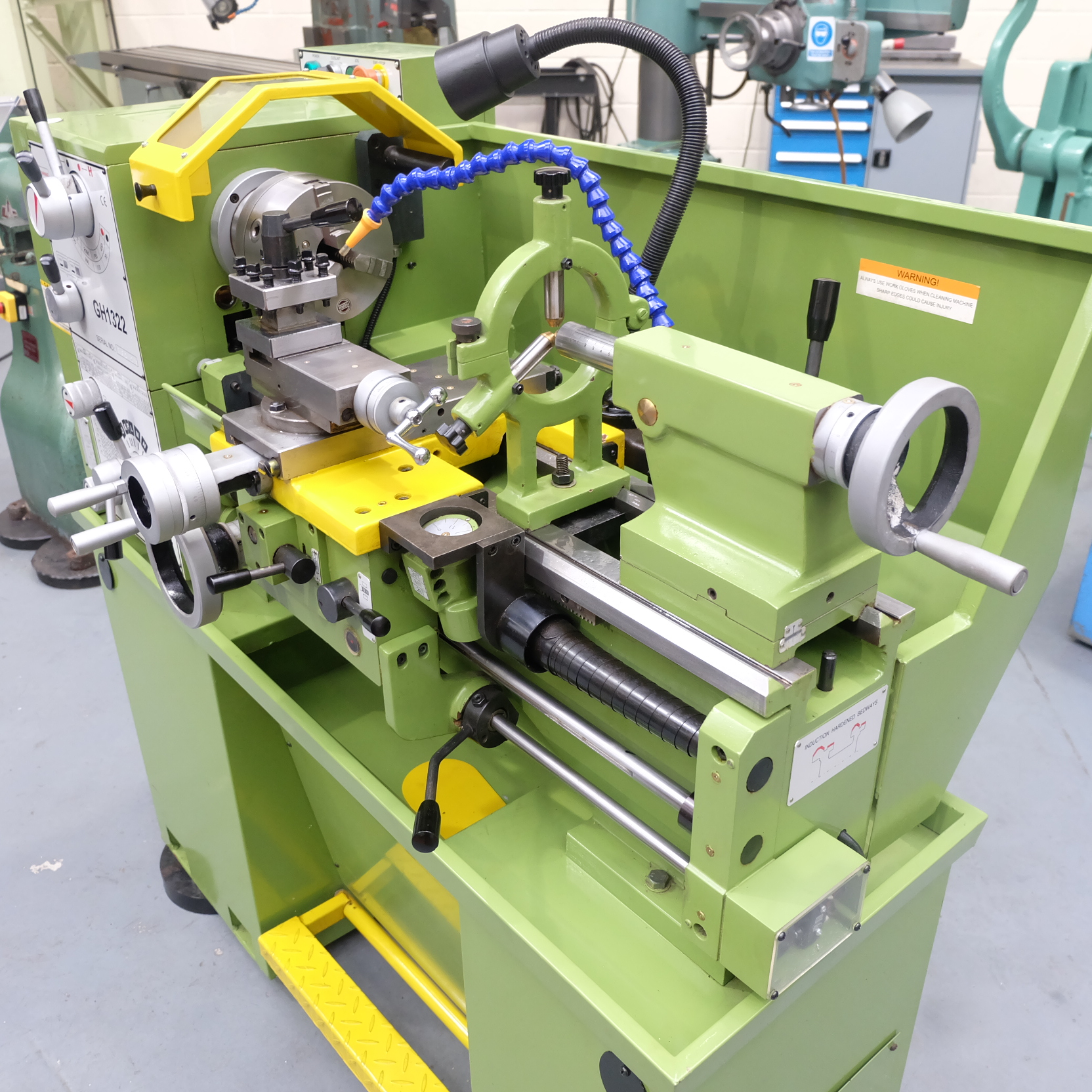 Warco Model GH 1322: Gap Bed Centre Lathe. - Image 6 of 10