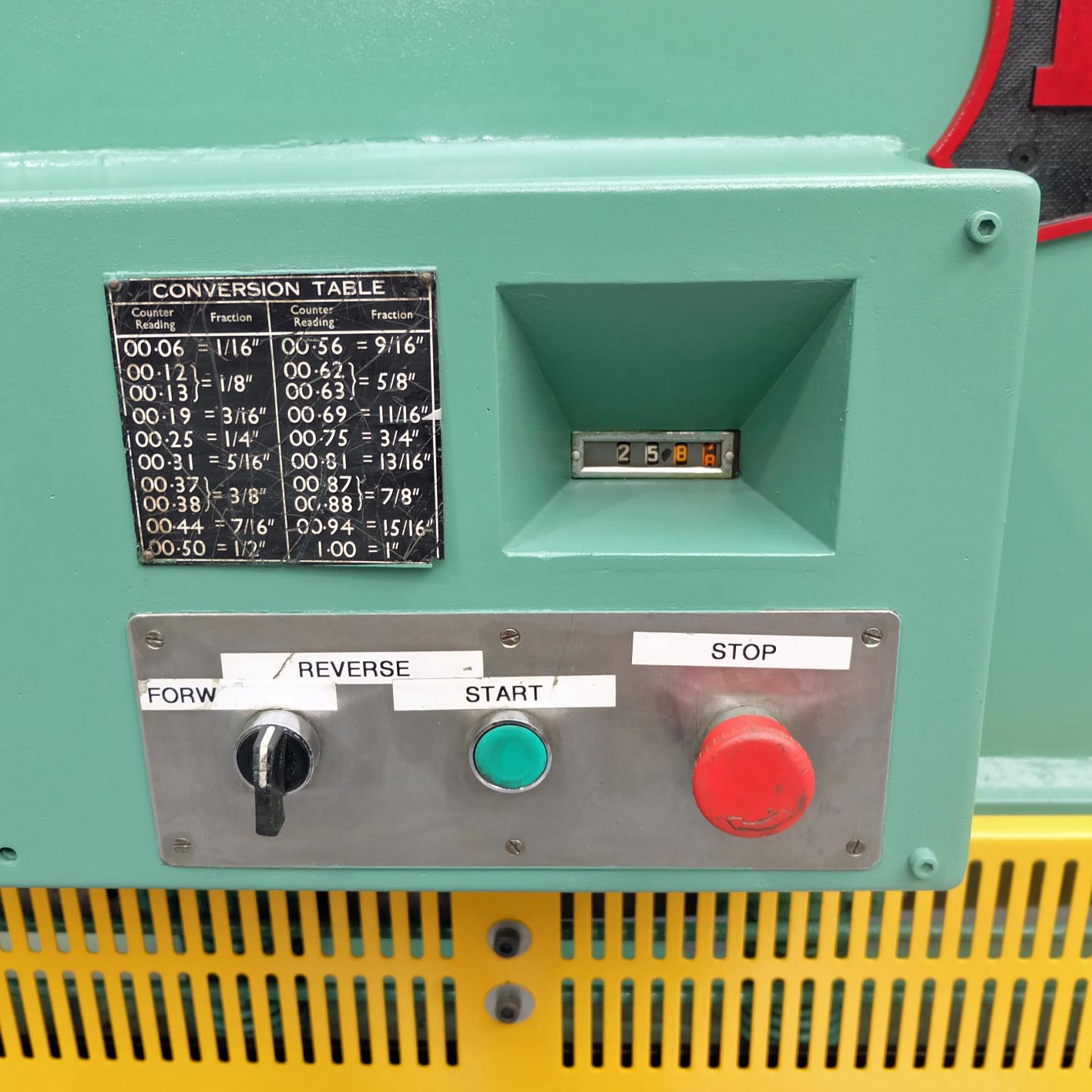 Pearson Type 8 x 25 Hydraulic Guillotine. - Image 3 of 7