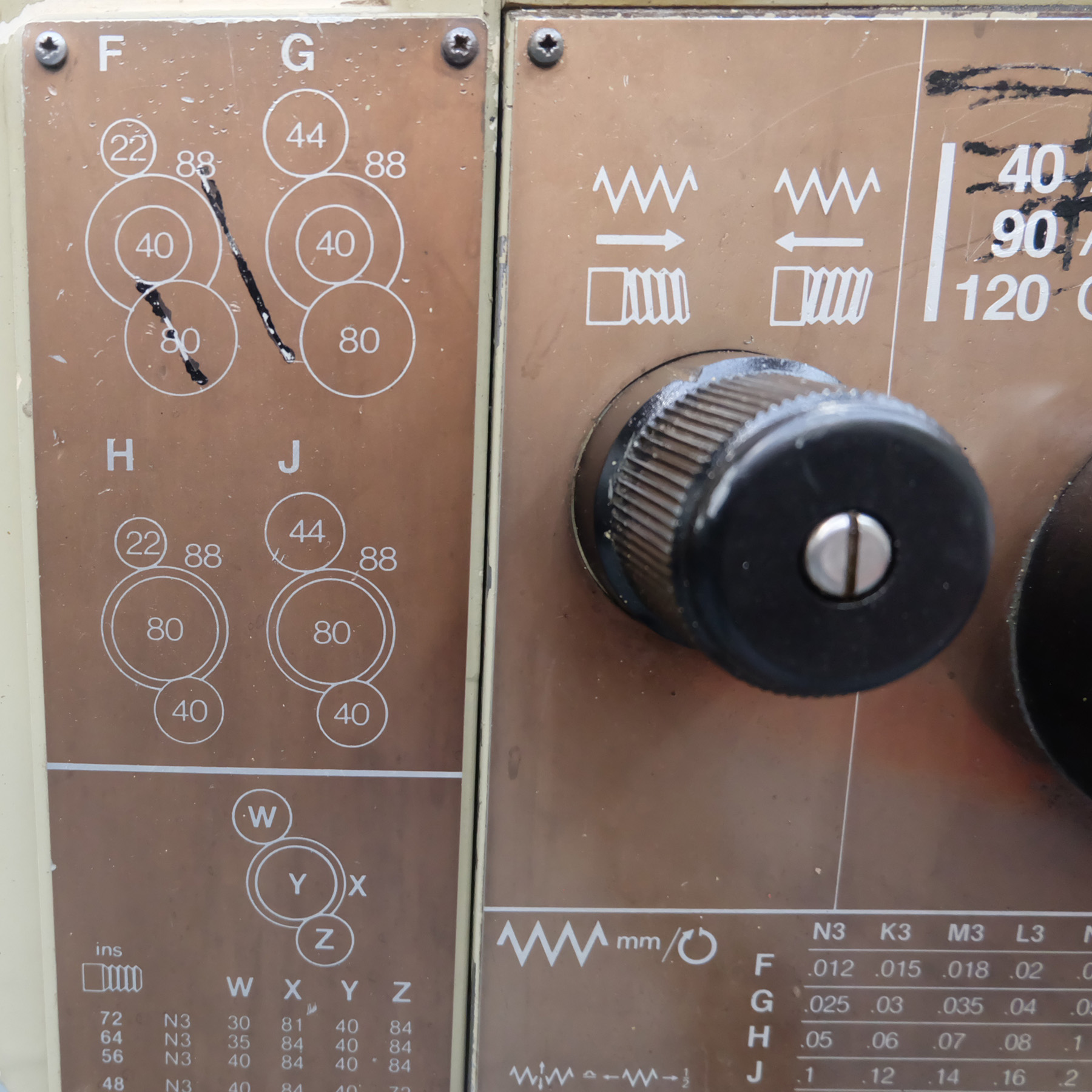 Harrison M250 Toolroom Centre Lathe. - Image 9 of 15