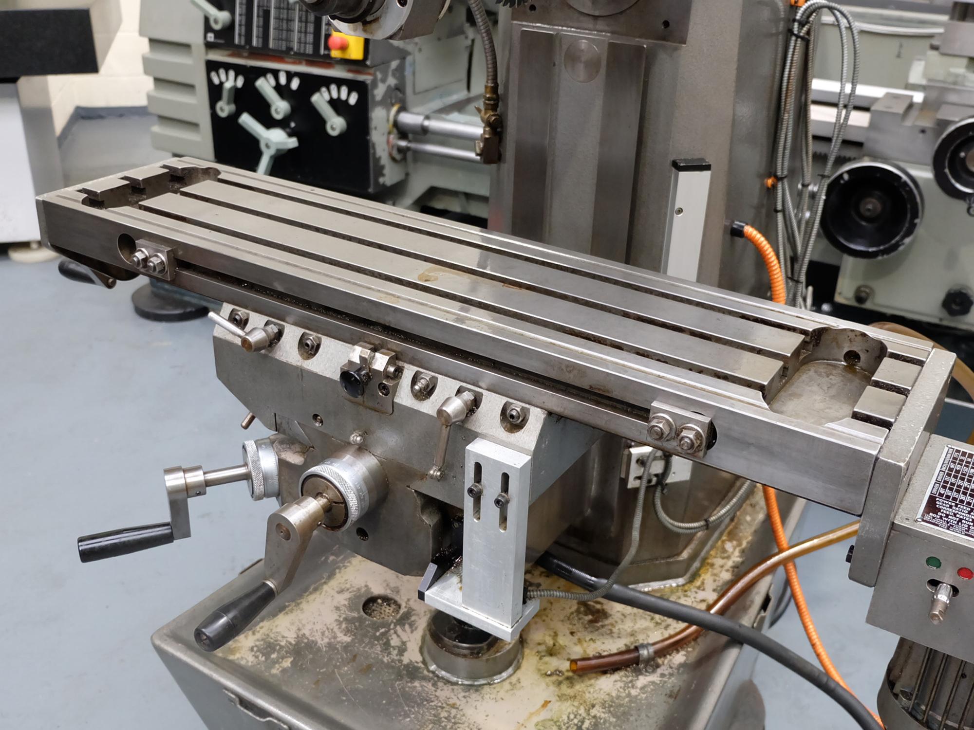 Veceroy AEW: Horizontal Milling Machine. - Image 4 of 10