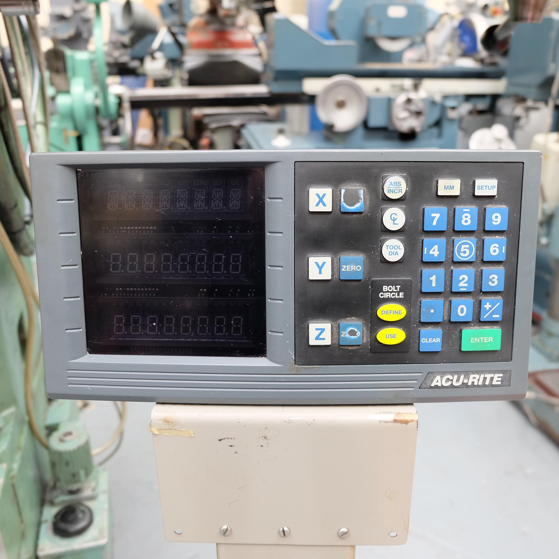 Ceruti Model ABC 75 Horizontal Boring & Milling Machine. With Tooling. - Image 15 of 15