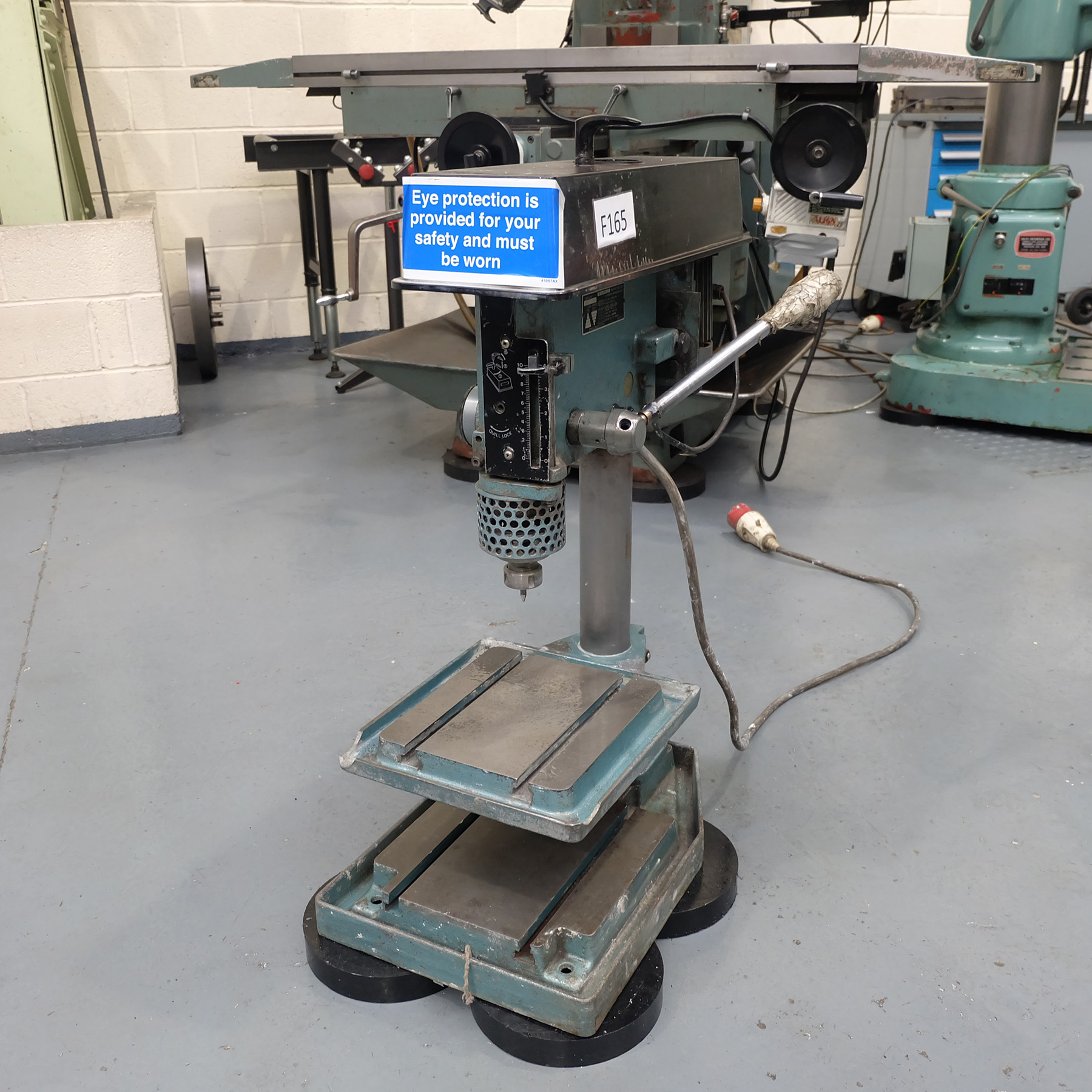 Meddings Type LF2 Bench Drill. Spindle Speeds 500-4000rpm. - Image 2 of 5