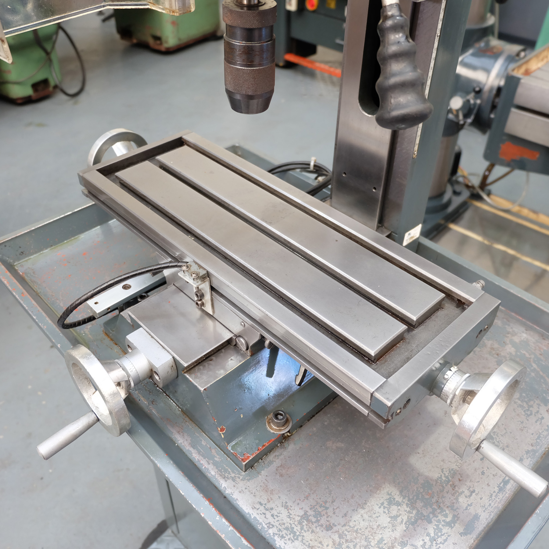 Optimum BF20 Vario Drilling/Milling Machine. - Image 7 of 11