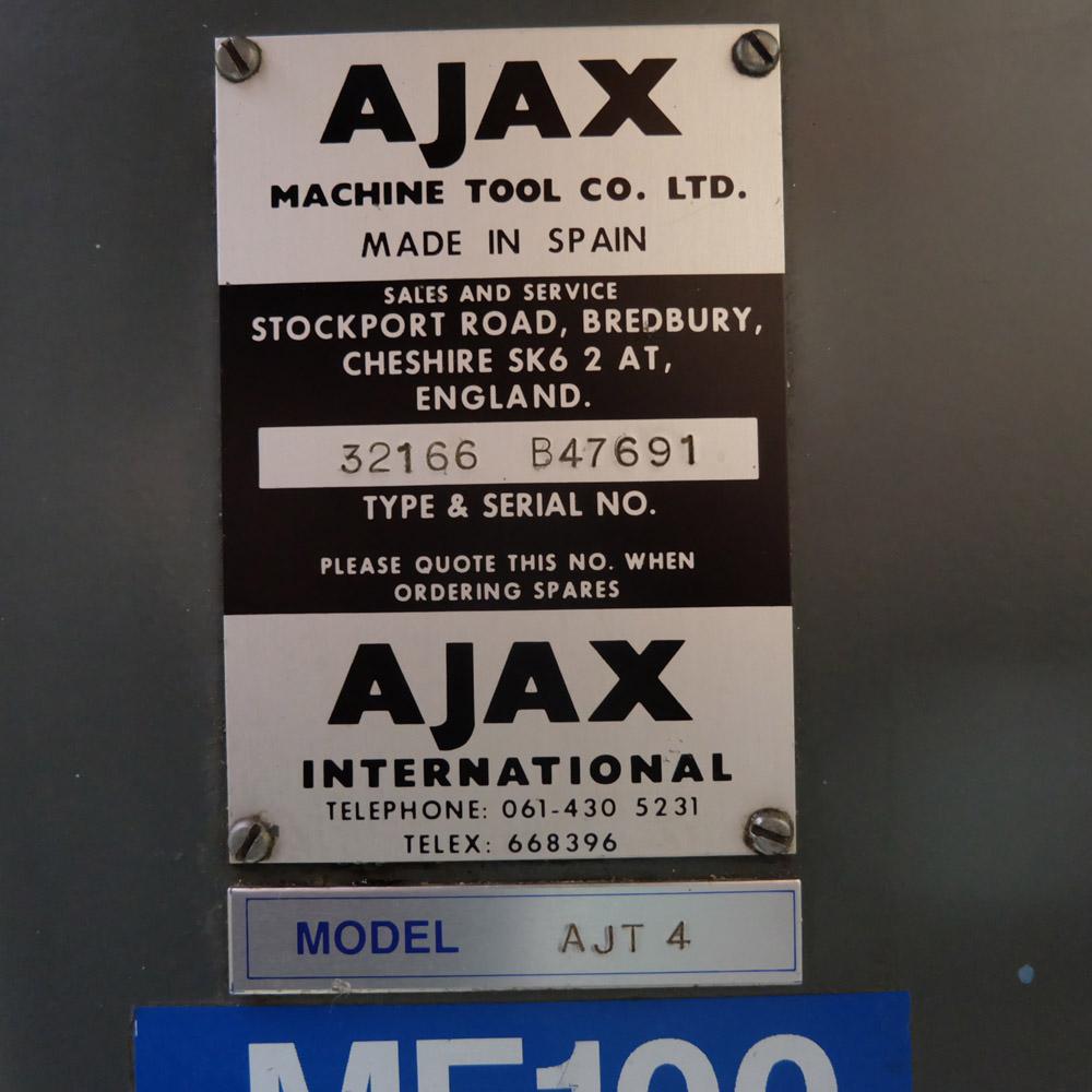 Ajax Model AJT4: Turret Milling Machine. - Image 10 of 10