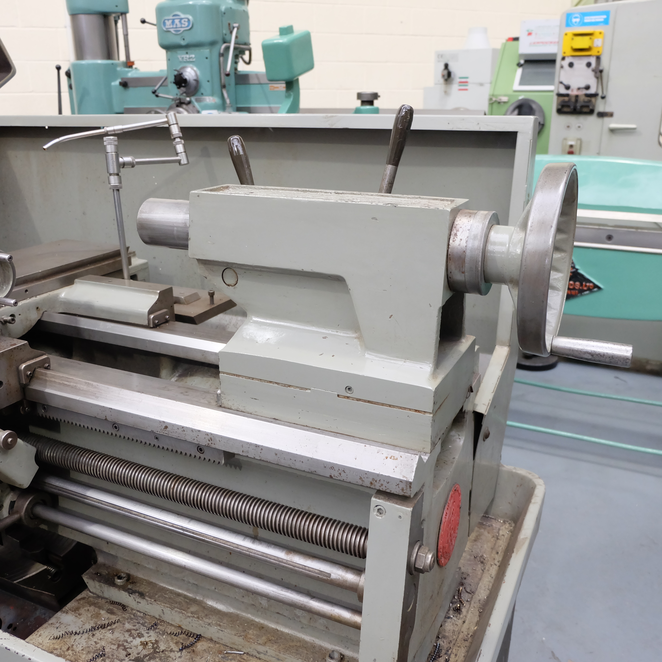 Colchester Mascot 1600 Gap Bed Centre Lathe. - Image 7 of 10